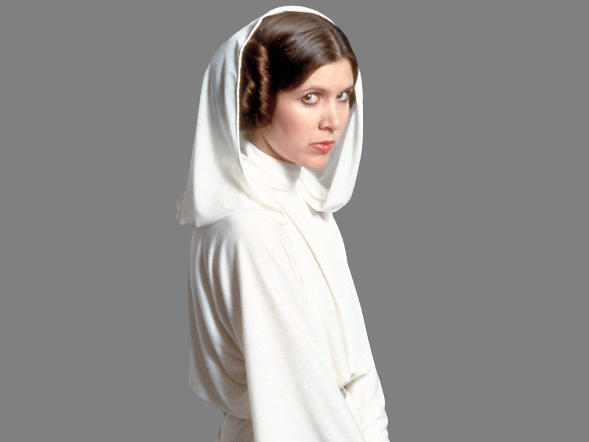 Star WarsCarrie Fisher as Princess Leia