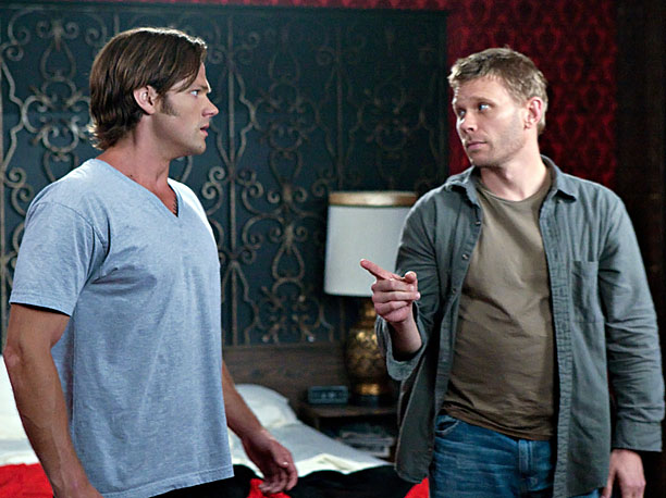 Season 5, episode 3 When Sam decides he no longer trusts himself to hunt alongside Dean, he gets a job as a bartender, which leaves…
