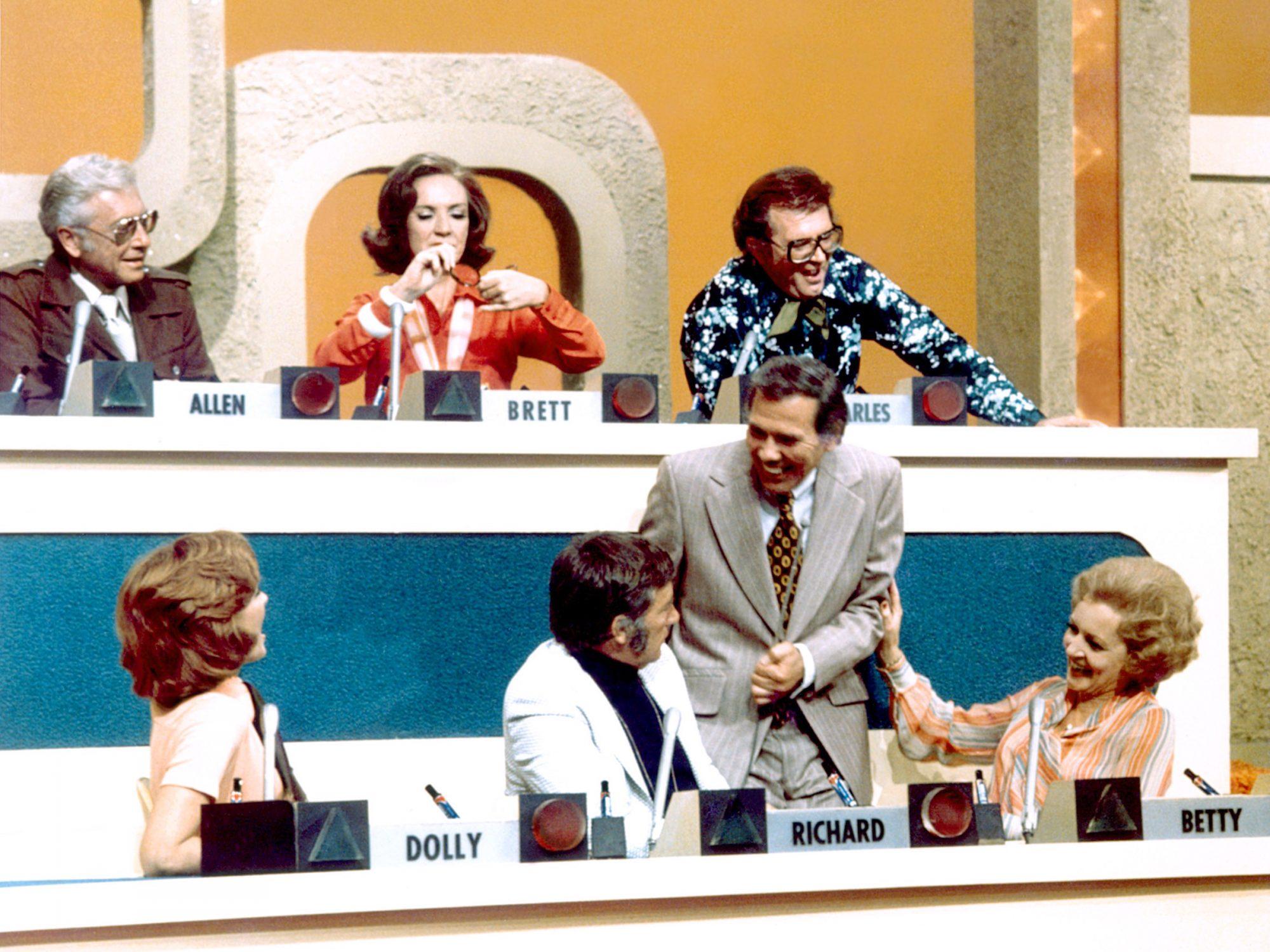 MATCH GAME, (aka MATCH GAME 73), Allen Ludden, Brett Somers, Charles Nelson Reilly, Dolly Read Marti