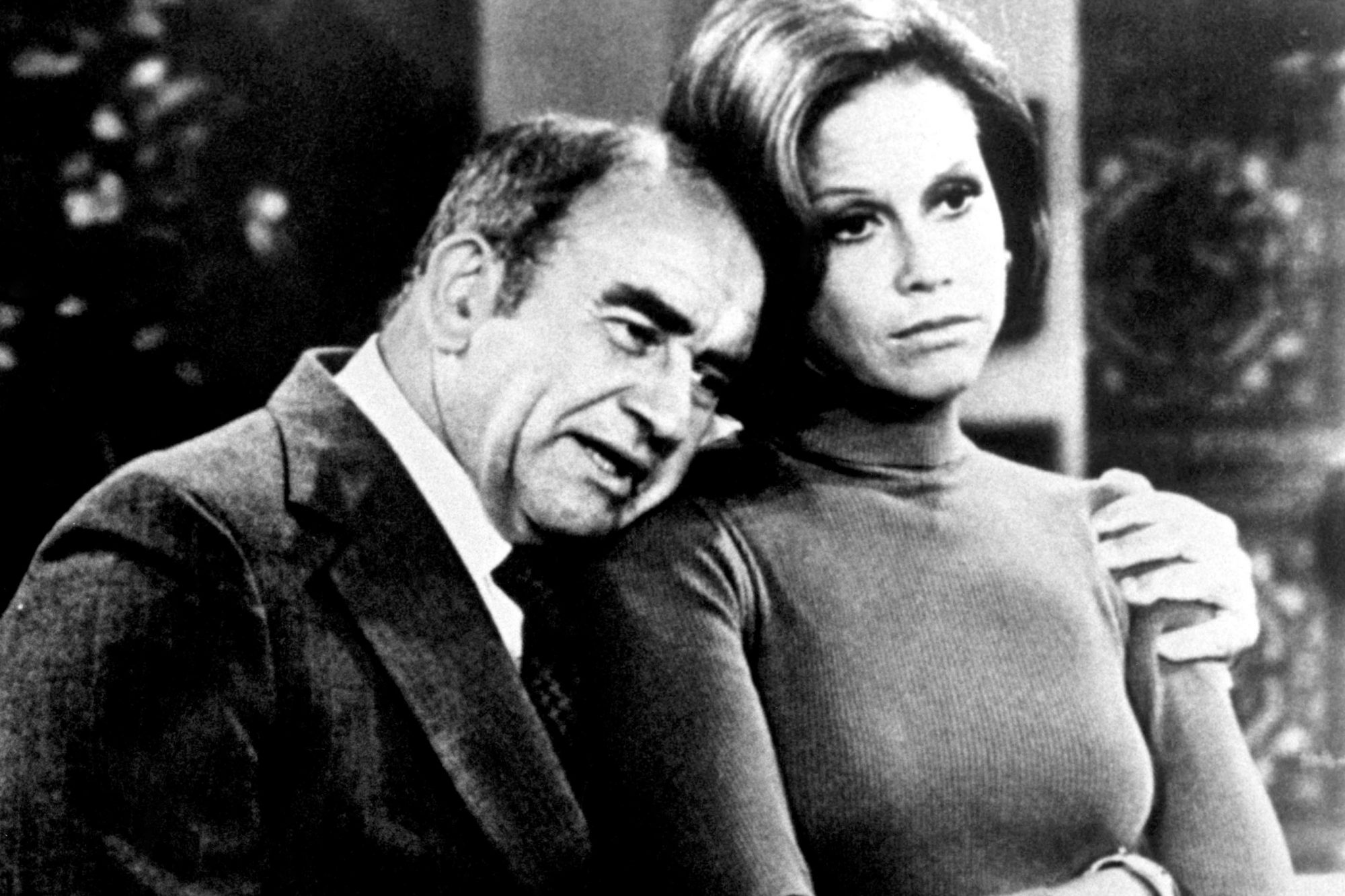 MARY TYLER MOORE SHOW, Ed Asner, Mary Tyler Moore, 1970-1977