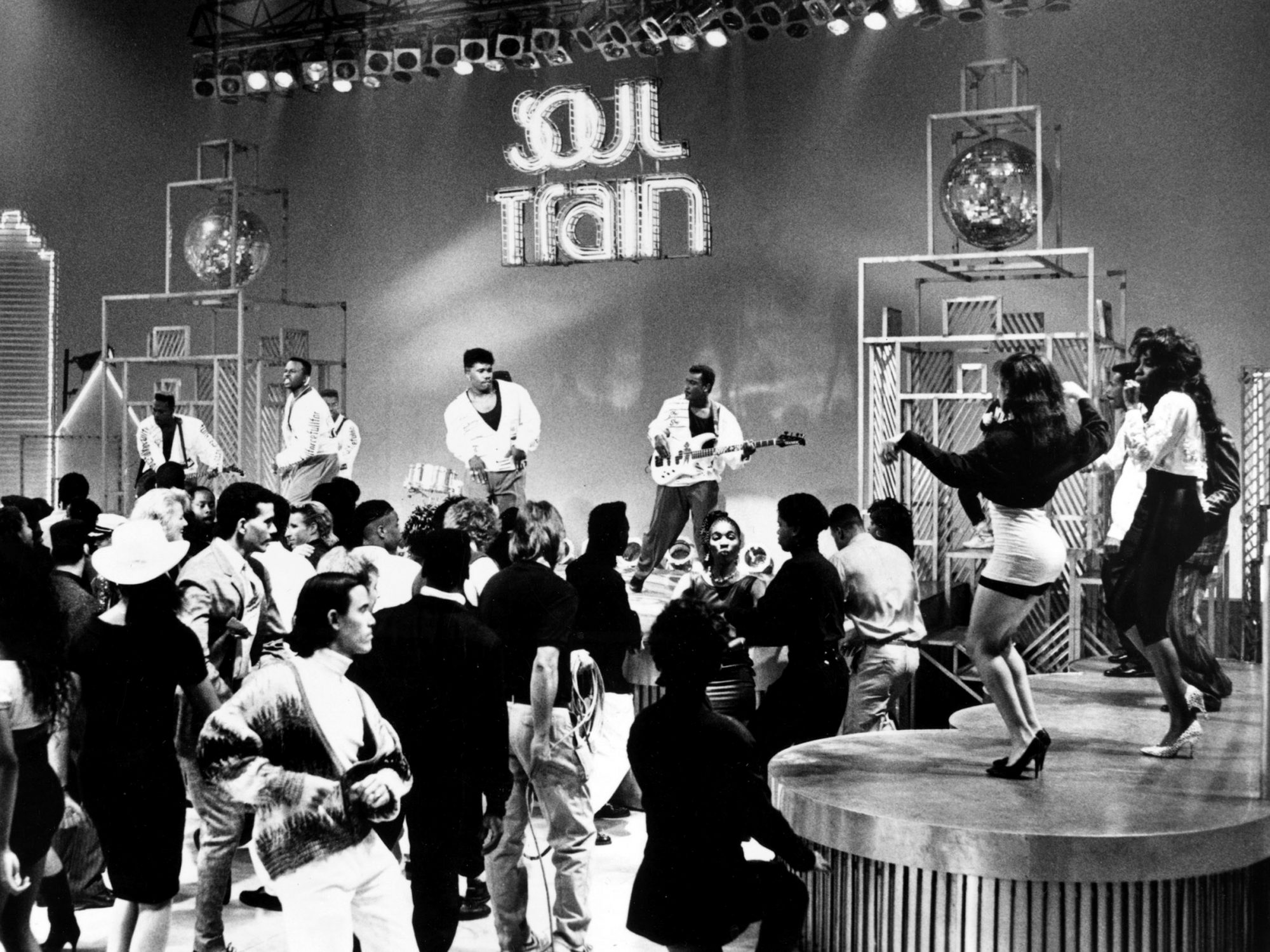 SOUL TRAIN, Full Force performs, early 1980s, 1971-
