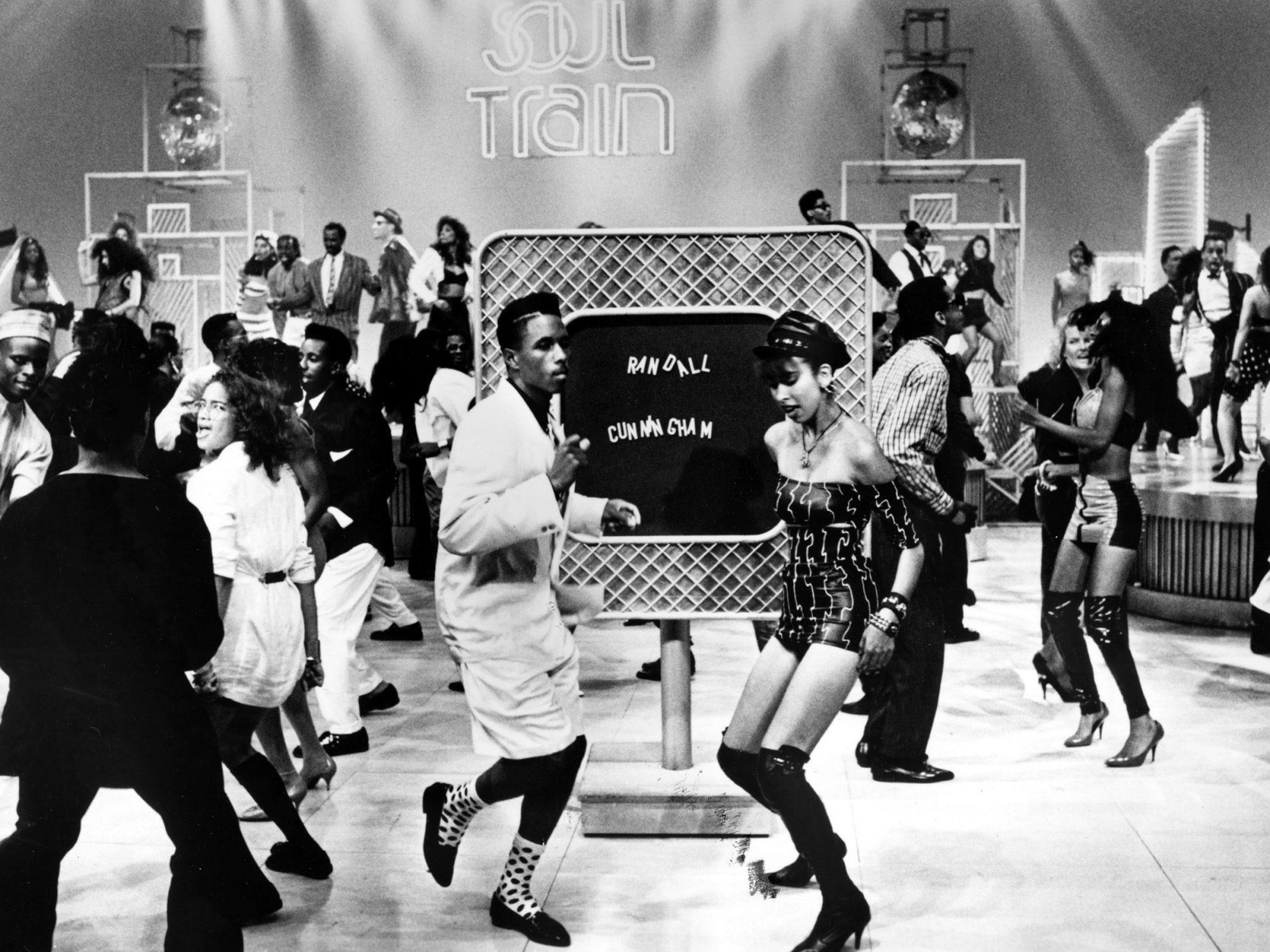 SOUL TRAIN, Soul Train Scramble Board, Soul Train Dancers, early 1980s, 1971-