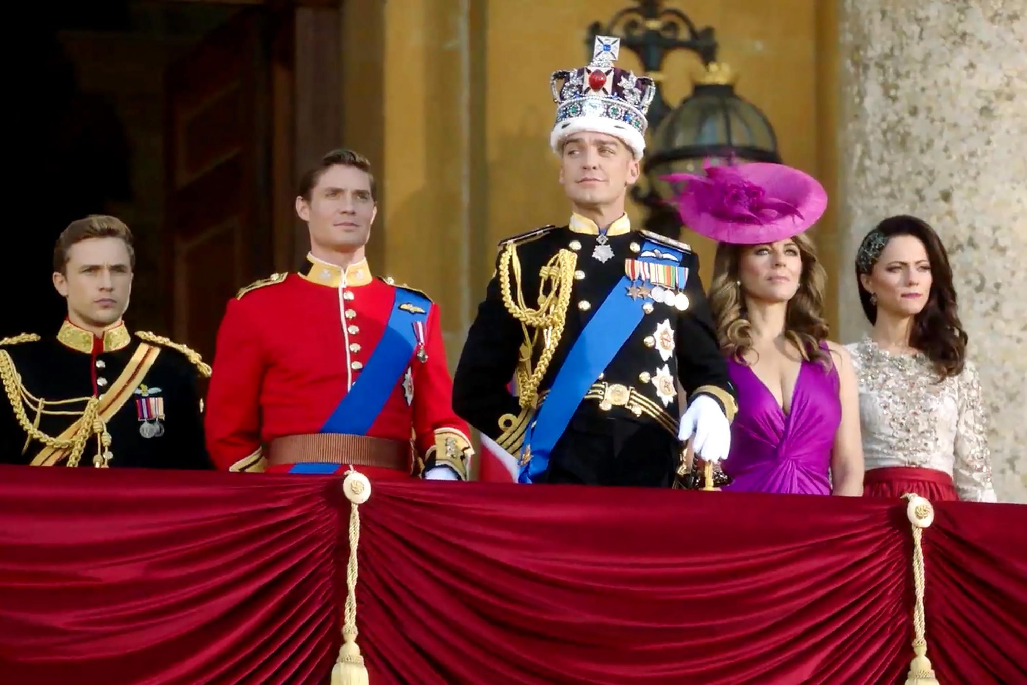The Royals (screen grab) CR: E!