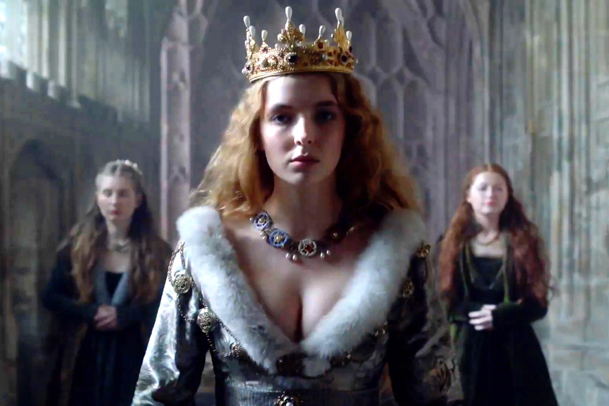 The White Princess   Tease   (screen grab) CR: STARZ