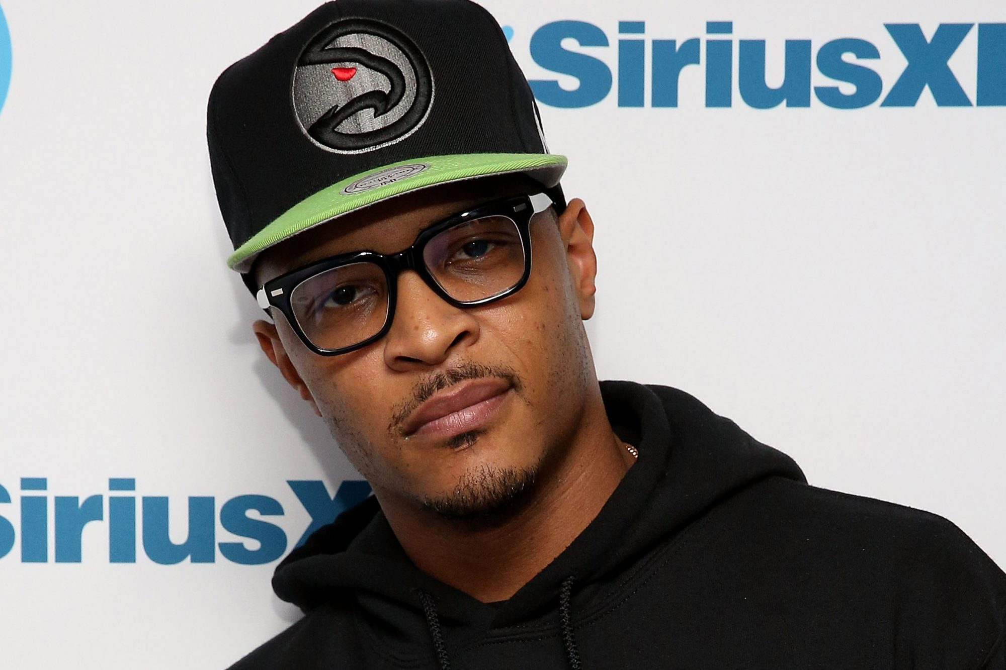 "T.I. Visits SiriusXM's ""Rap Radar Report"" Hosted By Elliott Wilson"