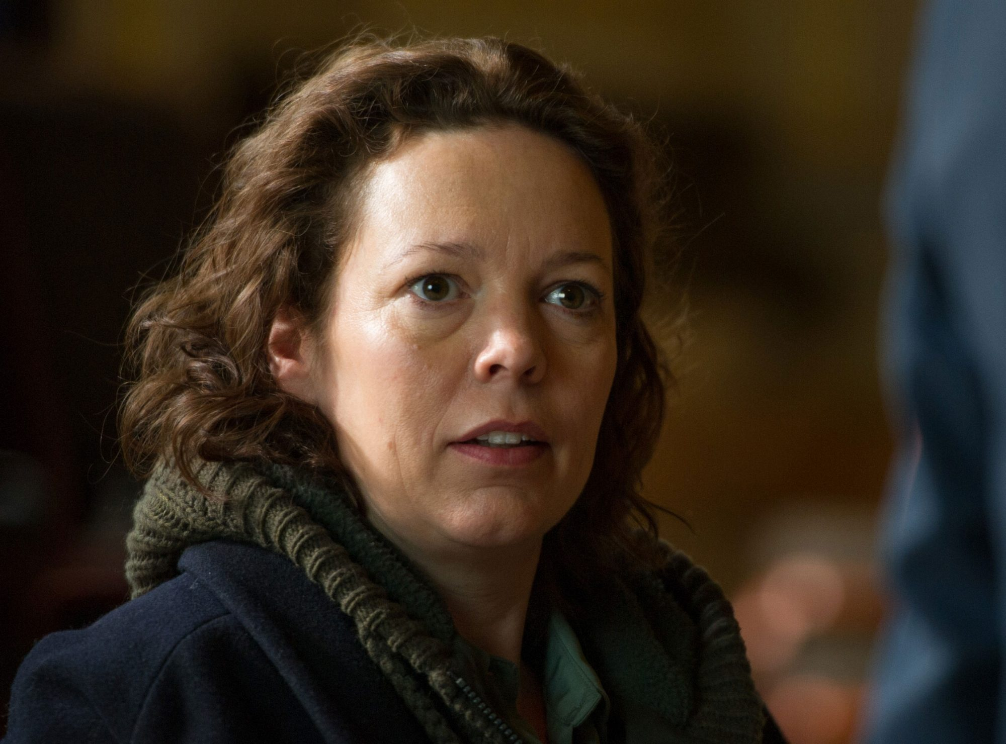THE NIGHT MANAGER (2016)Season 1, Episode 1 Olivia Colman as Angela Burr