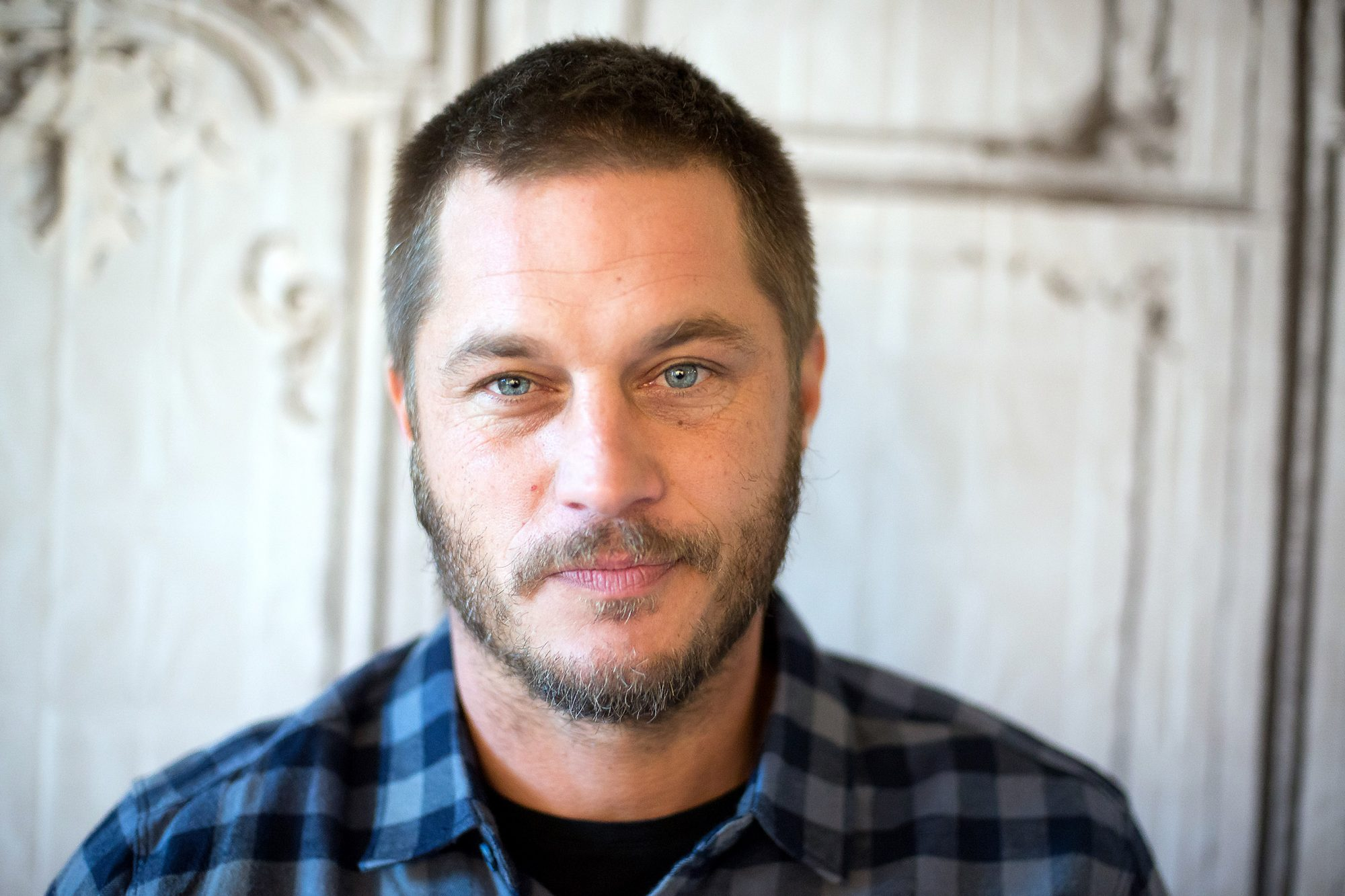 "Build Series Presents Travis Fimmel And Linus Roache Discussing ""Vikings"""