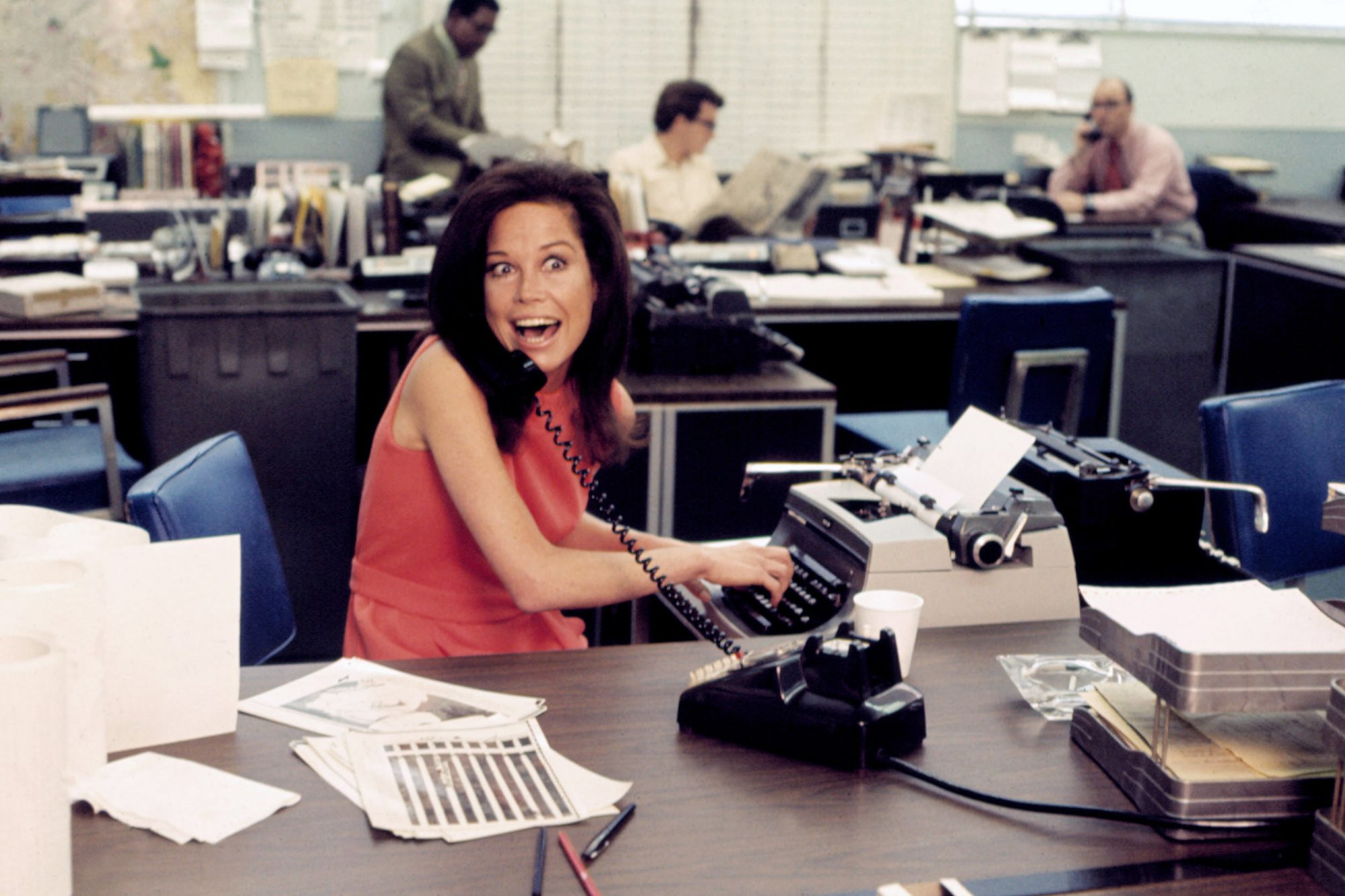 THE MARY TYLER MOORE SHOW, Mary Tyler Moore, 1970-1977