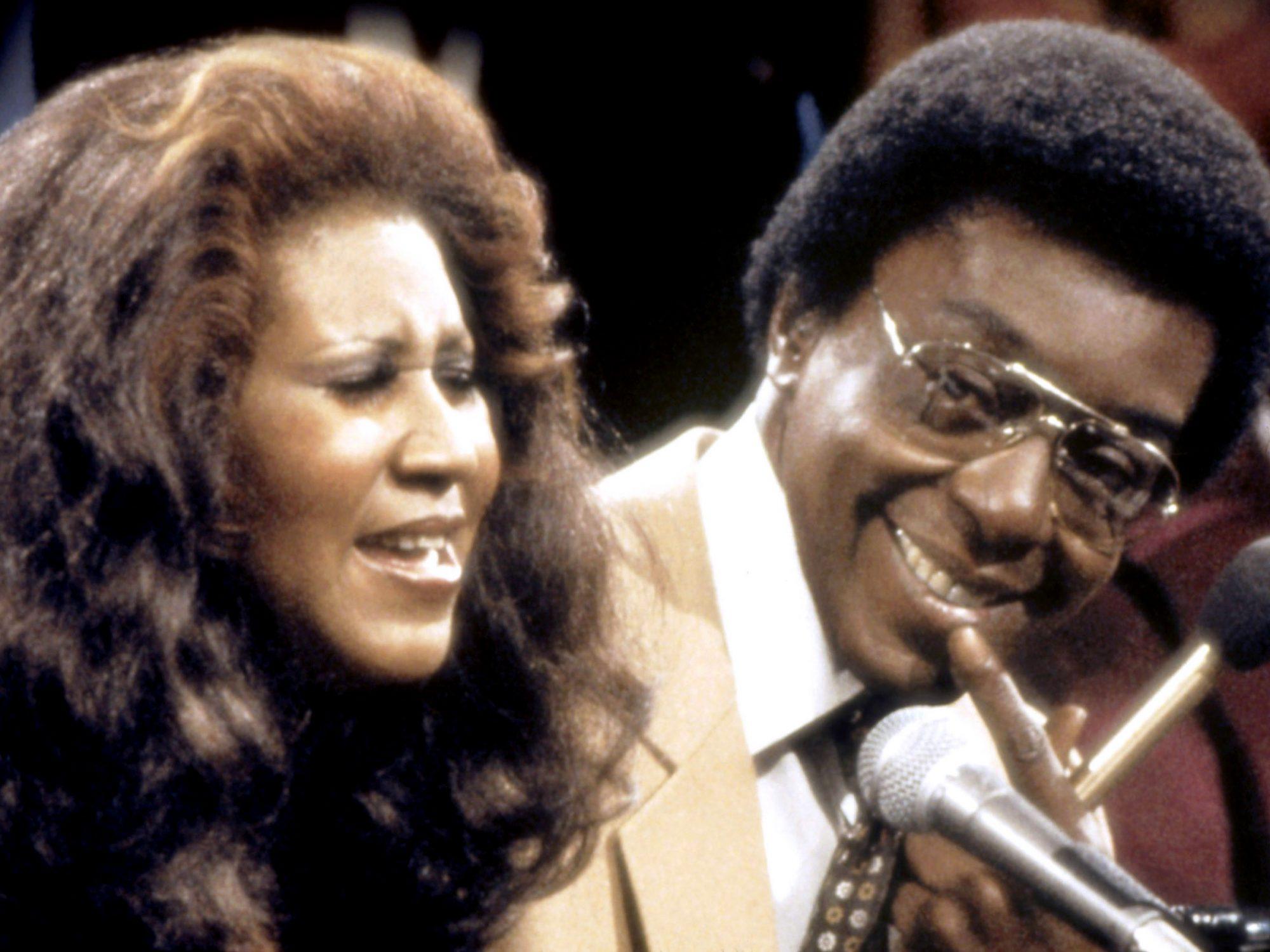 SOUL TRAIN, from left: Aretha Franklin, Don Cornelius, 1971-present