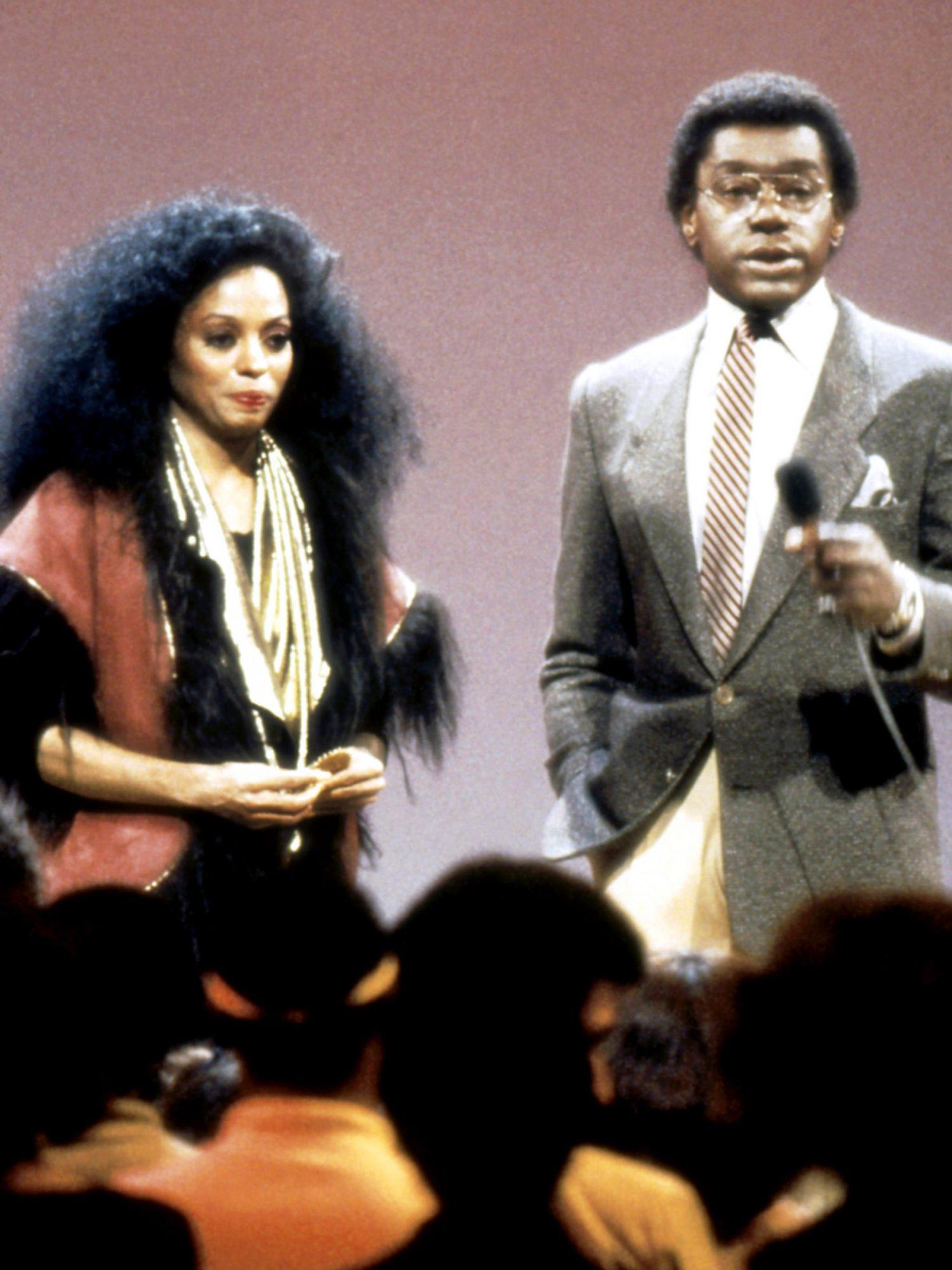 SOUL TRAIN, from left: Diana Ross, Don Cornelius, 1971-present
