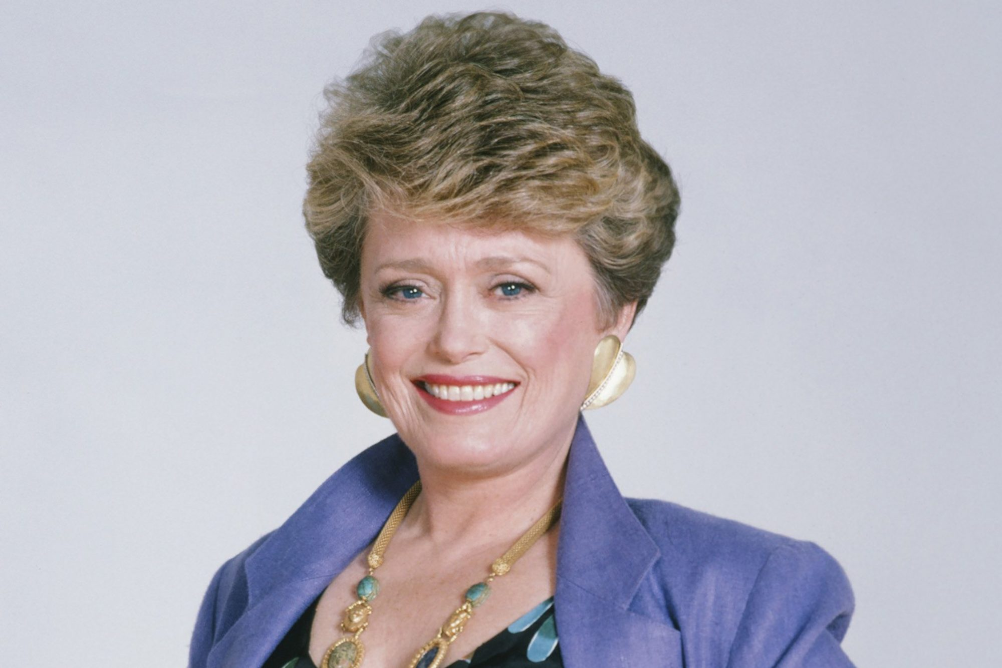 Rue McClanahan as Blanche on Golden Girls