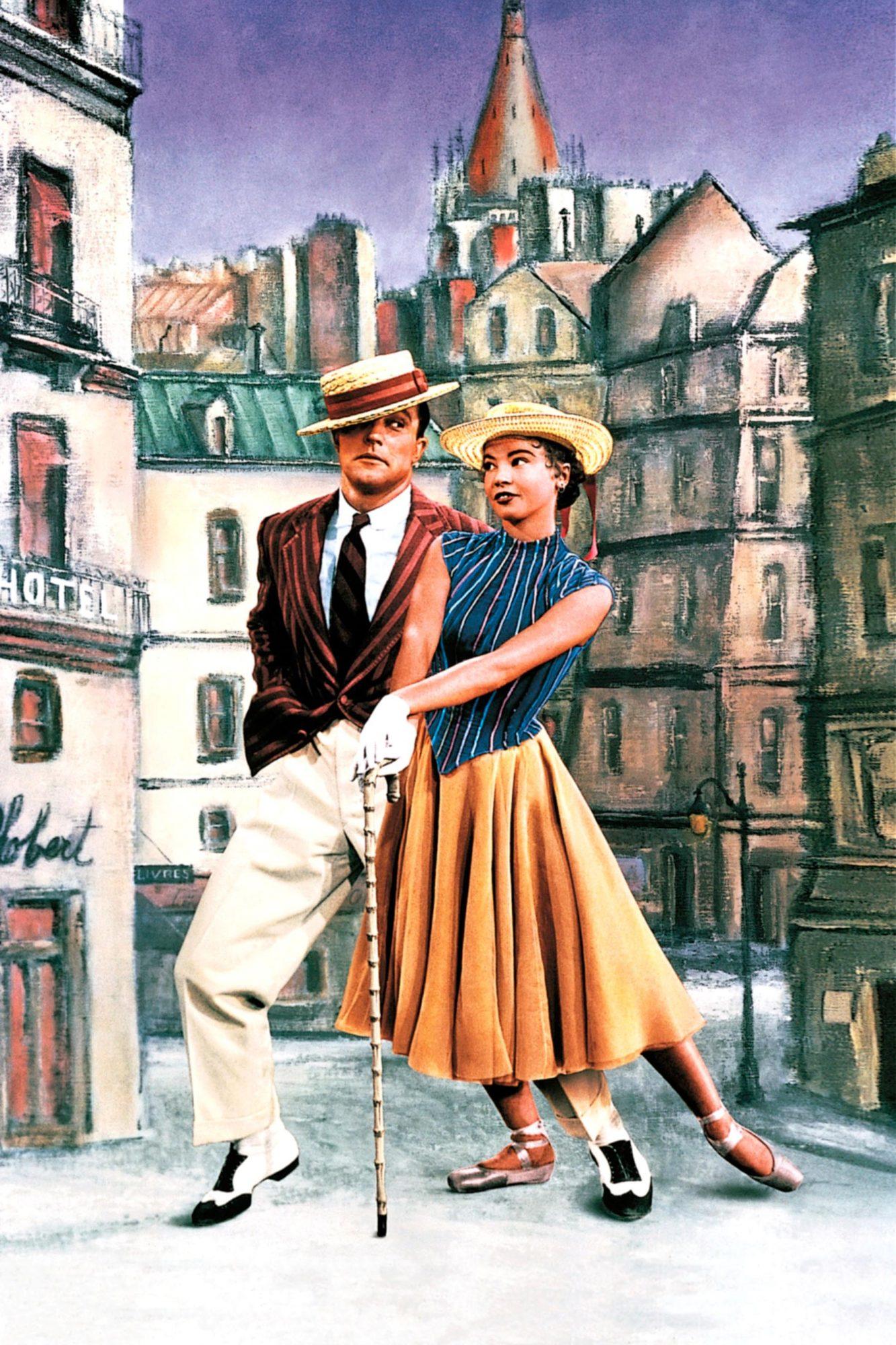 AN AMERICAN IN PARIS, Gene Kelly, Leslie Caron, 1951