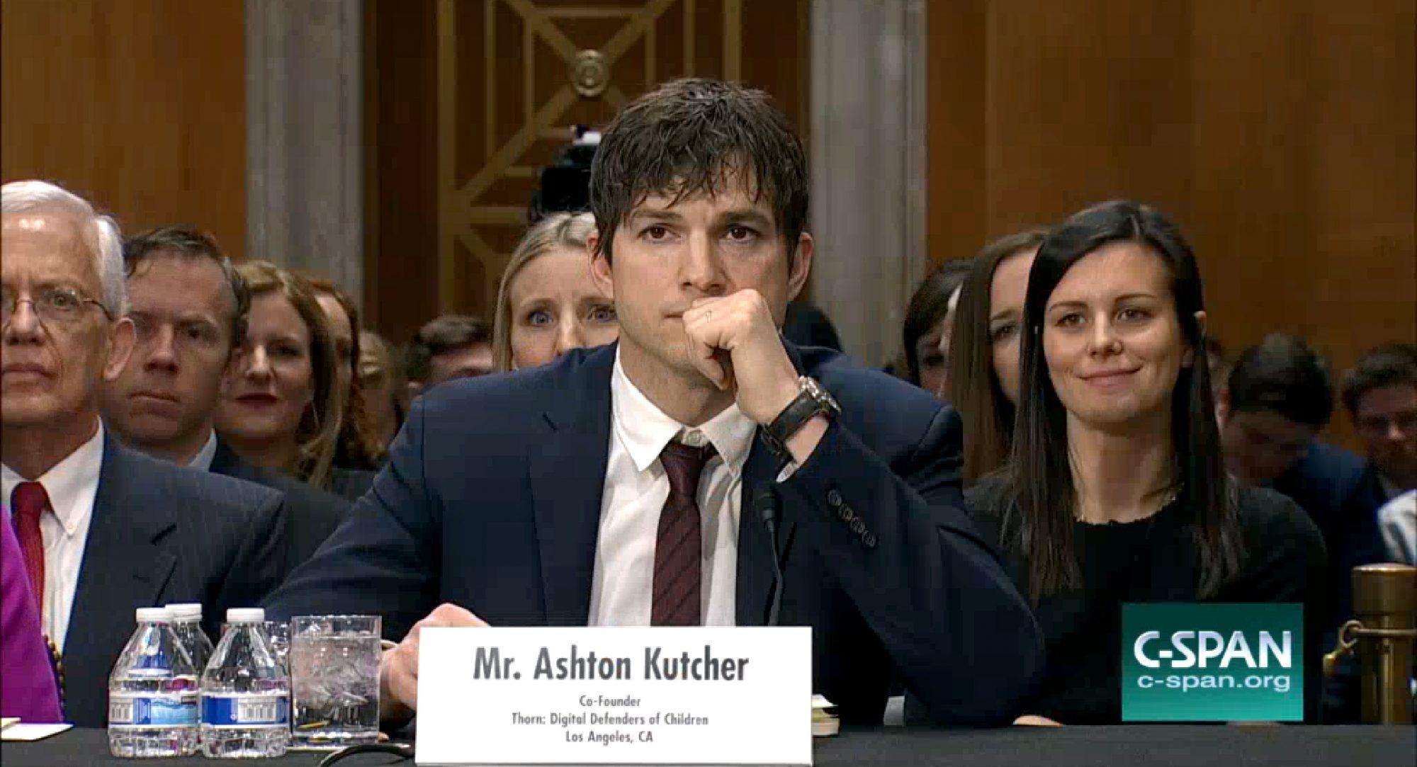 Ashton Kutcher to end modern slavery