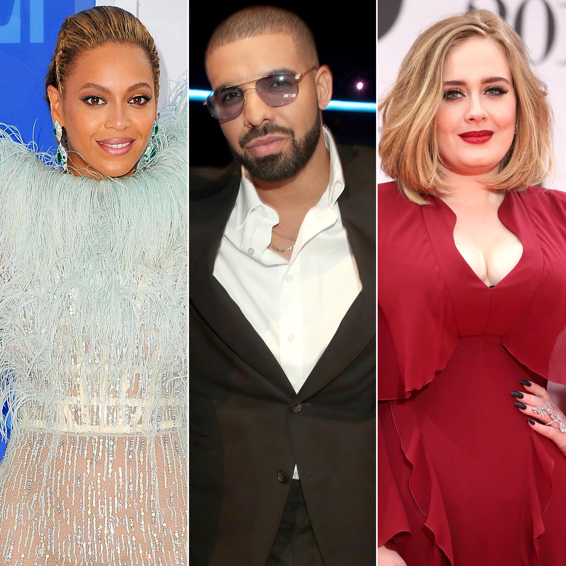 Beyonce, Adele & Drake