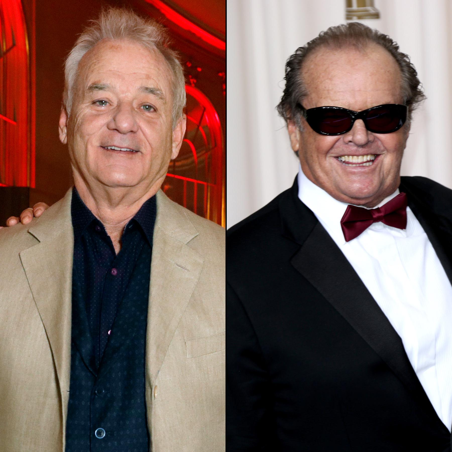 Bill Murray and Jack Nicholson