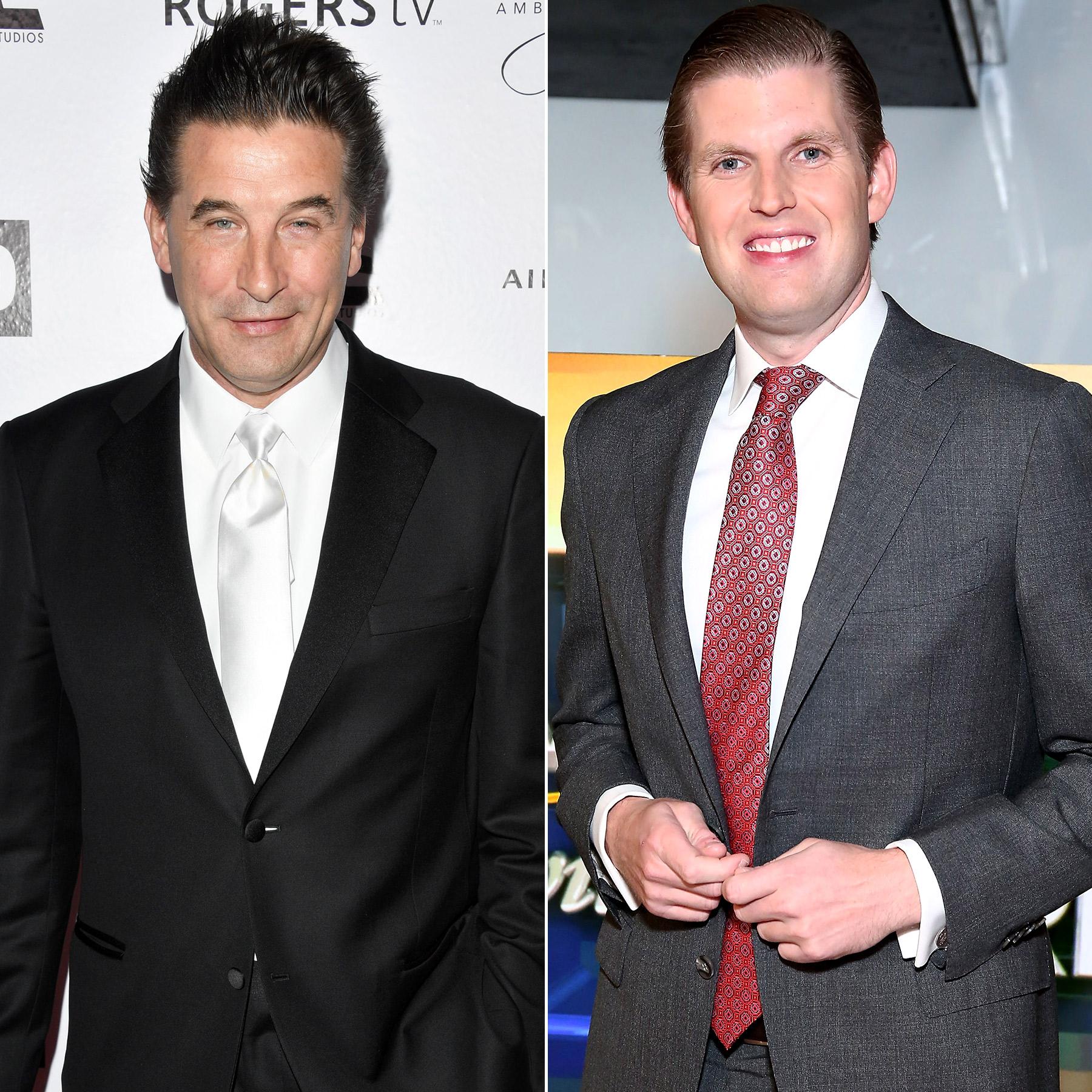 Billy Baldwin will play Eric Trump on SNL