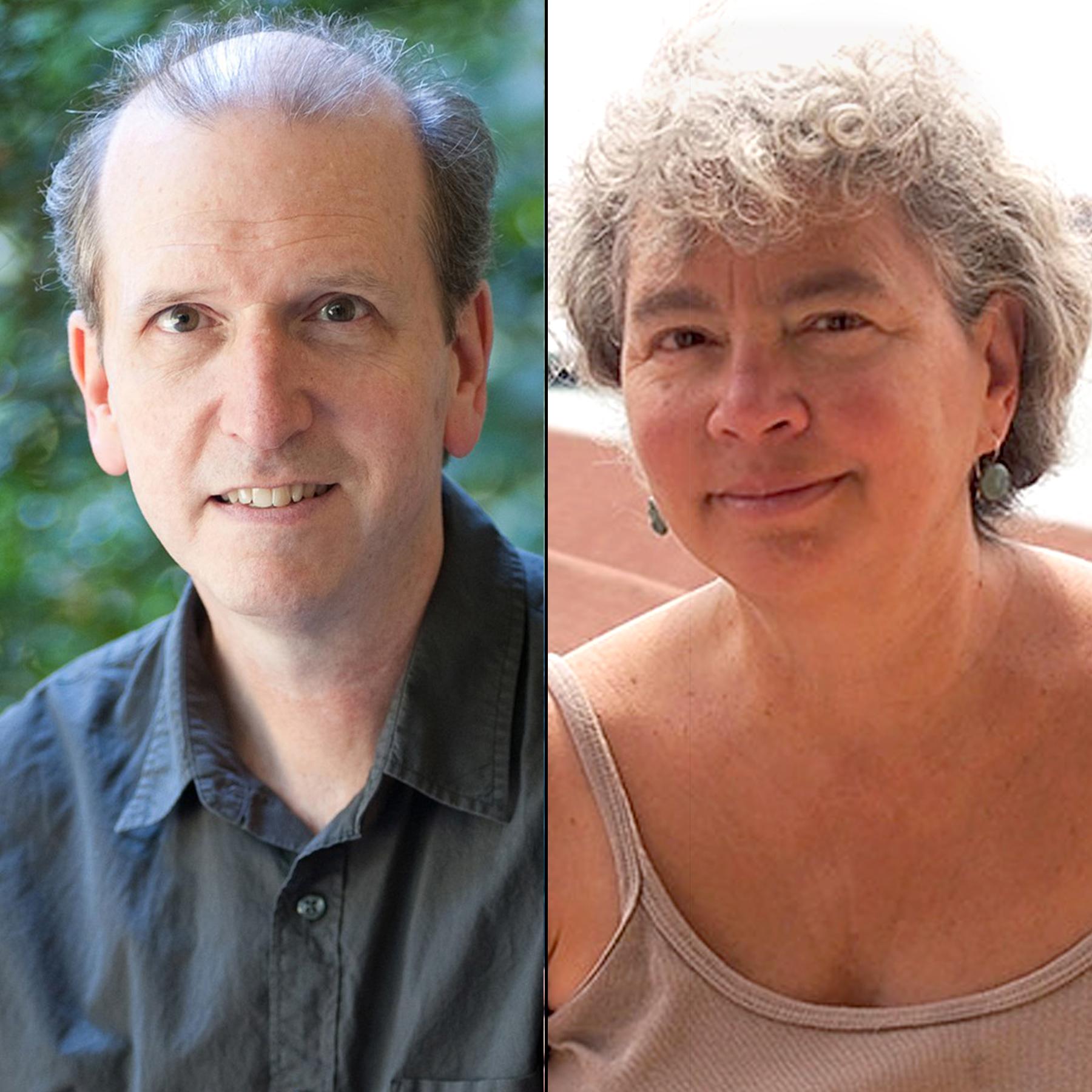 David Wisenor and Donna Jo Napoli - Fish Girl authors