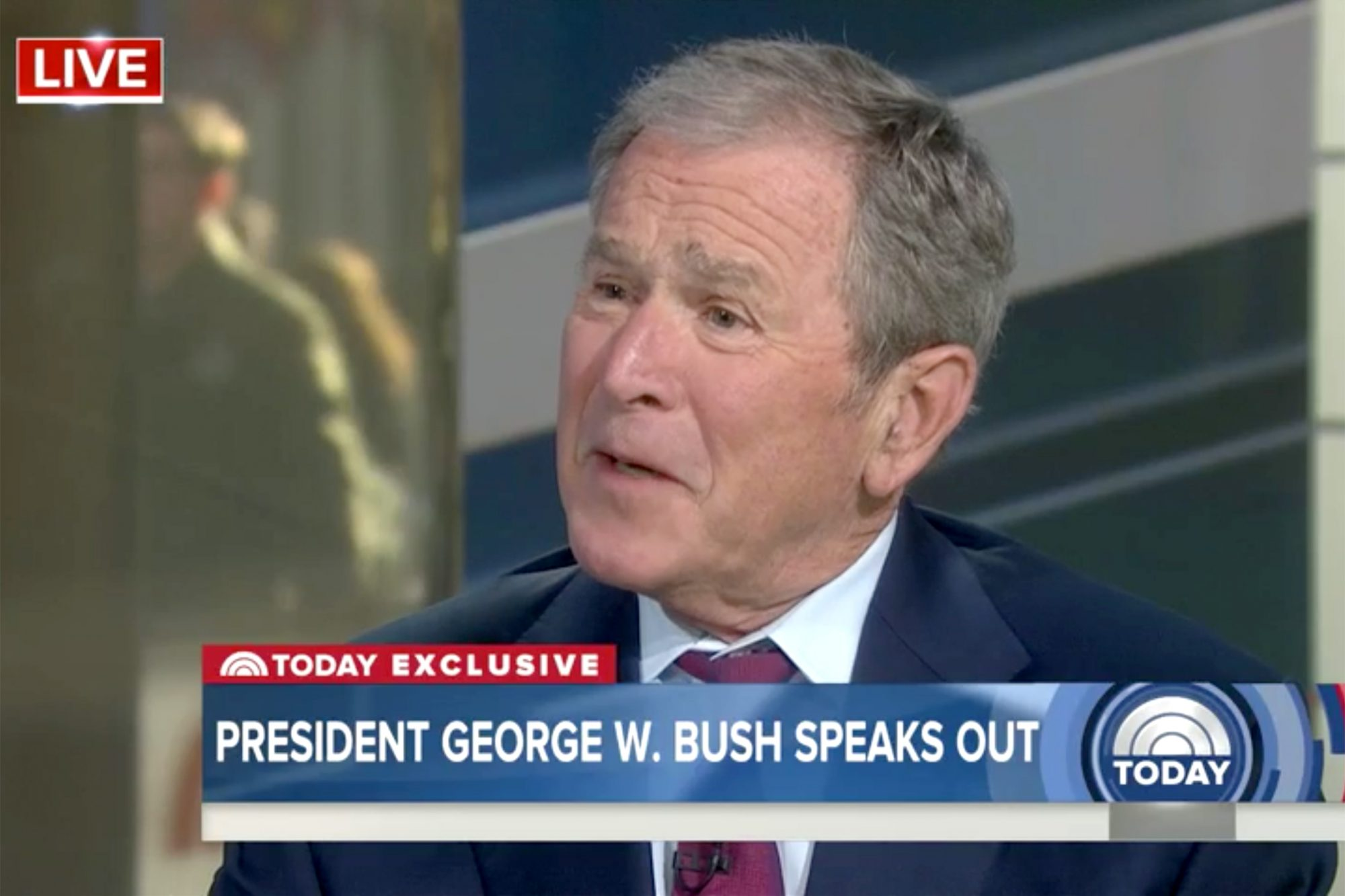 George W Bush on Today