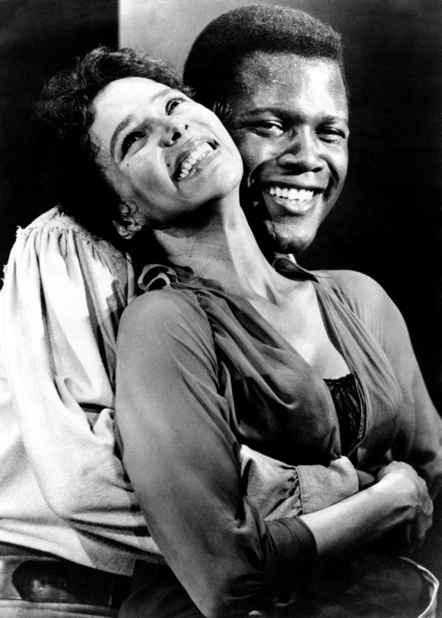 Sidney Poitier and Dorothy Jean Dandridge in Porgy and Bess