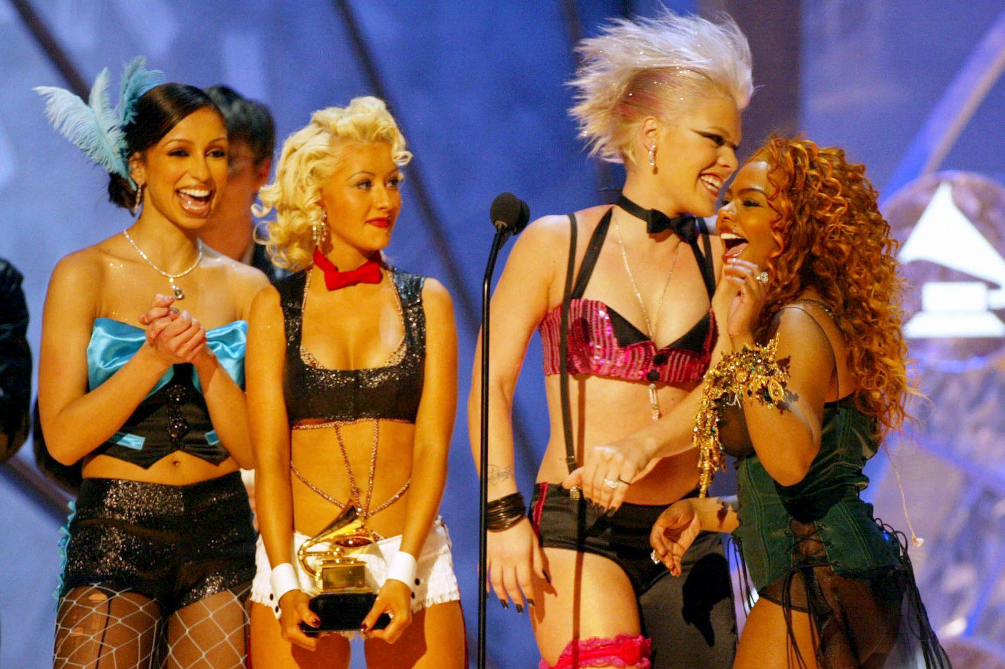 Mya, Christina Aguilera, Pink  and Li'l Kim