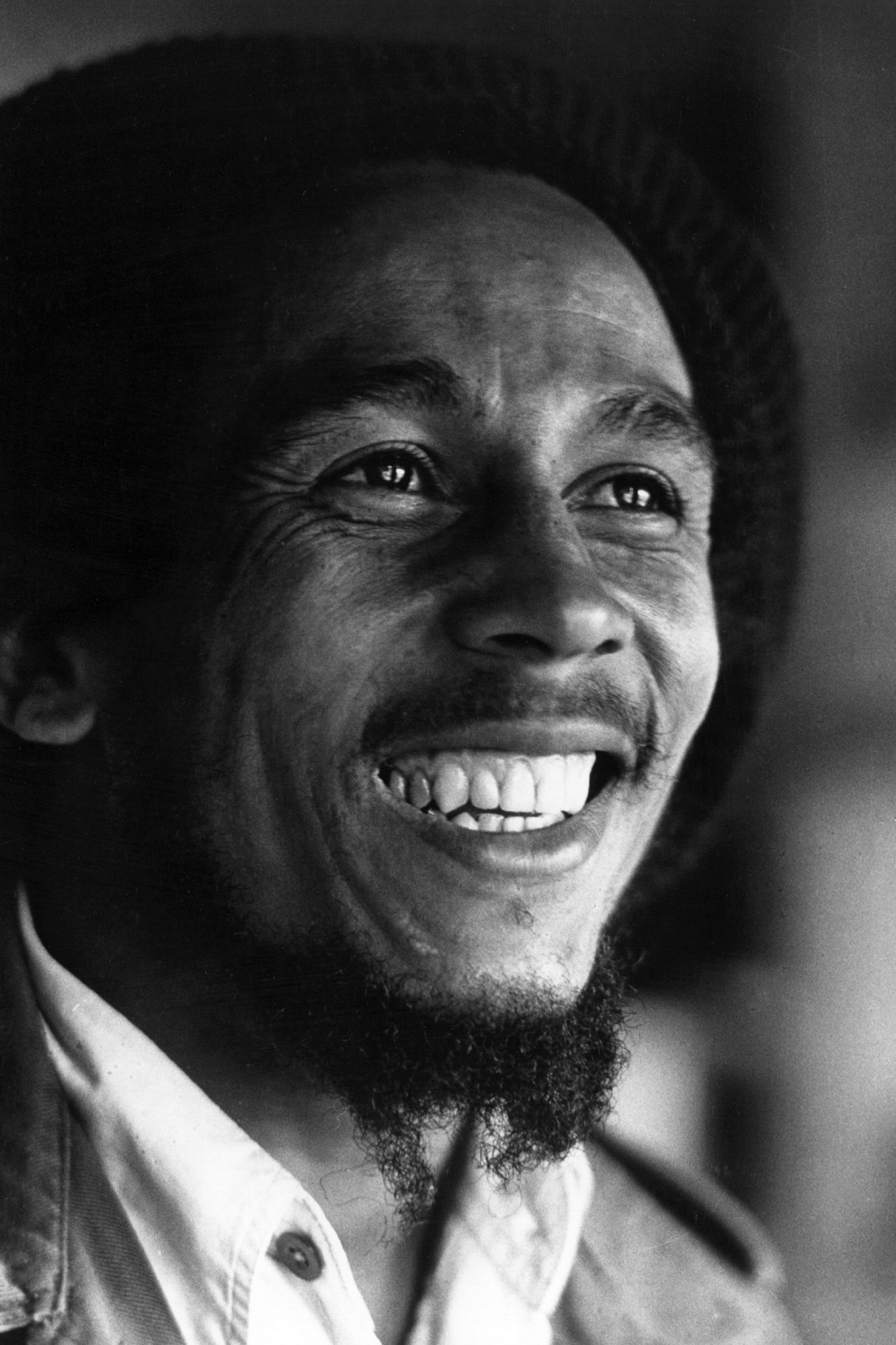 Bob Marley in London on June 3, 1977