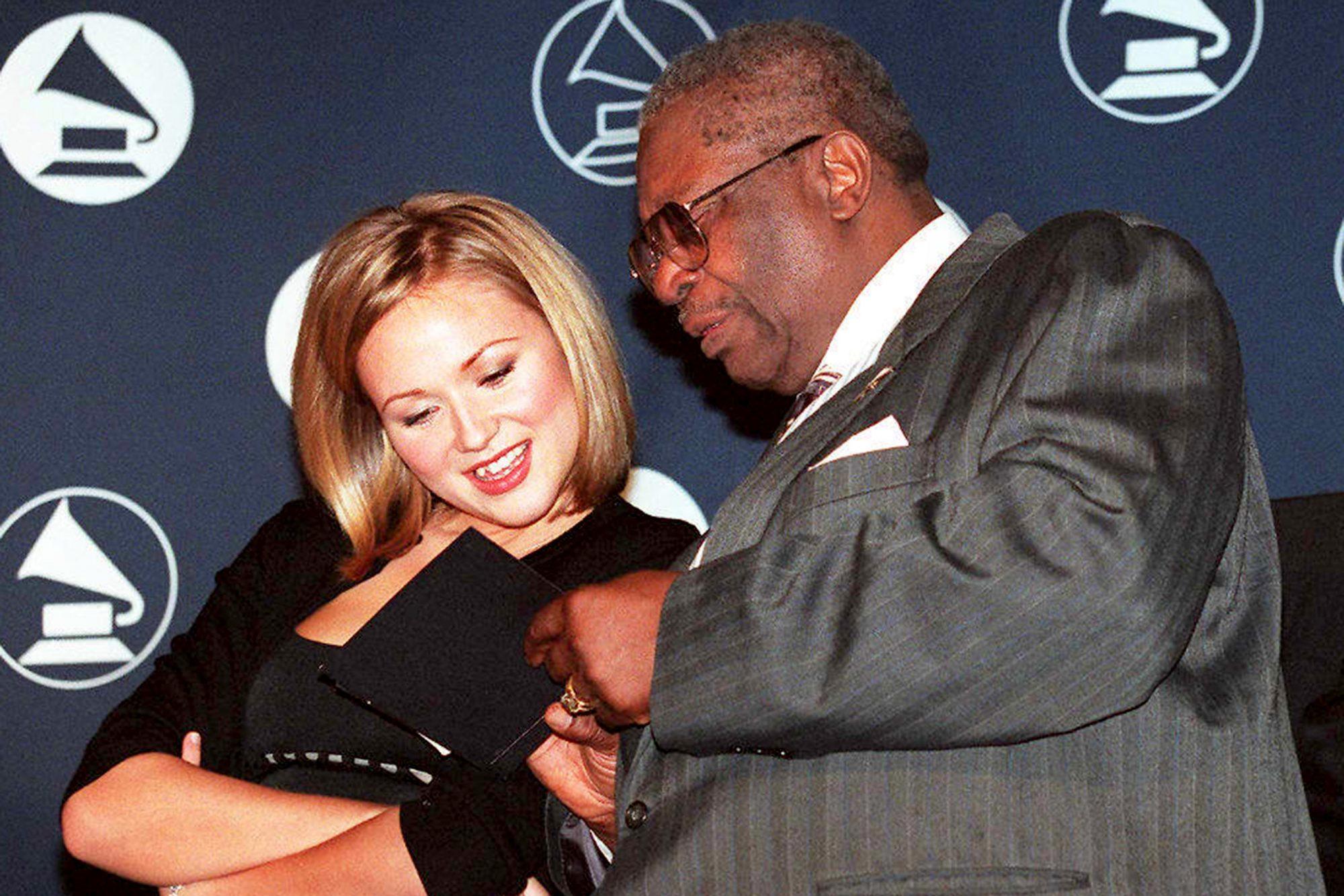 Grammy nominees Jewel and blues legend B.B. King l