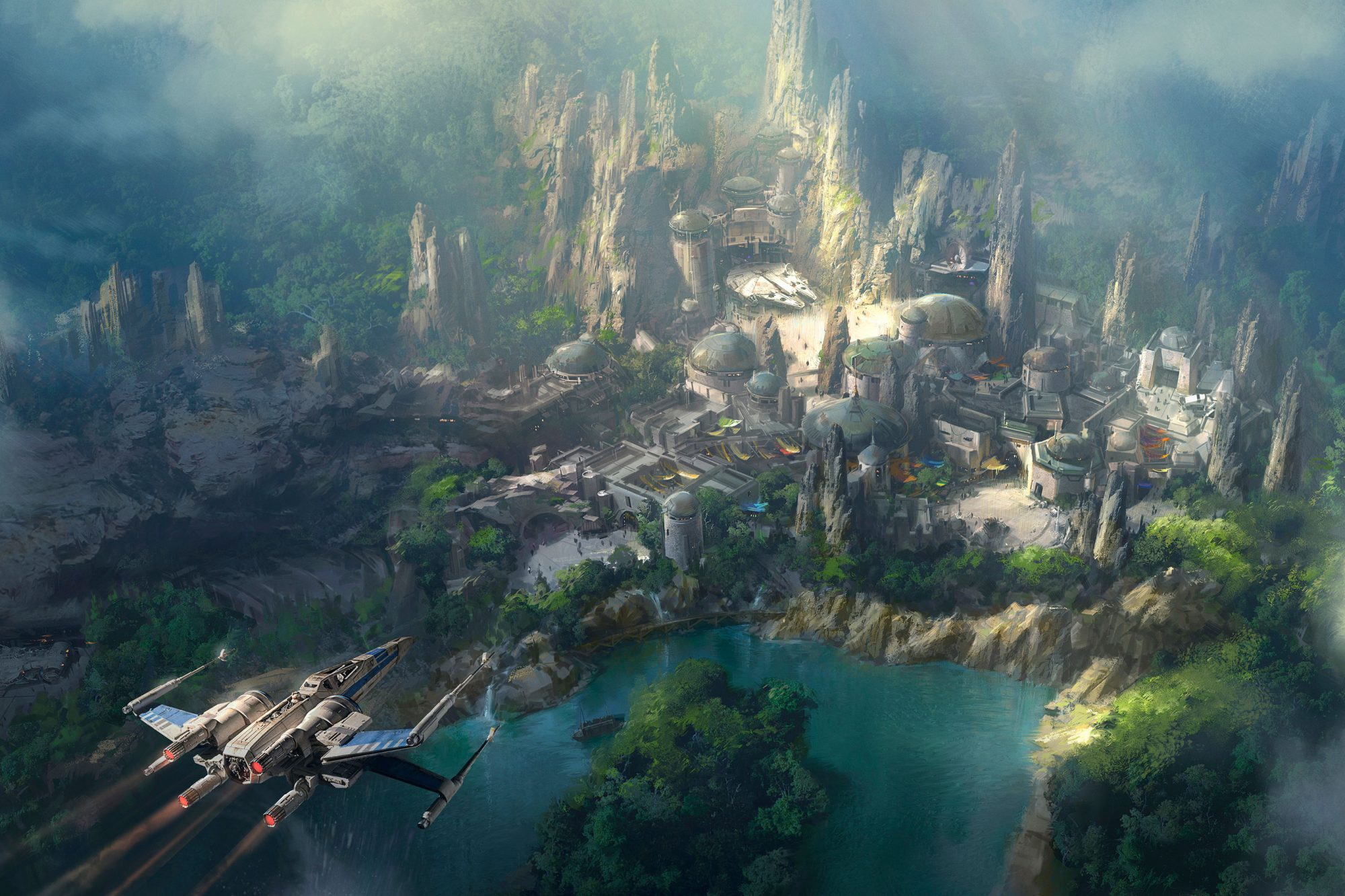 Star Wars-Themed Land At Disneyland Resort