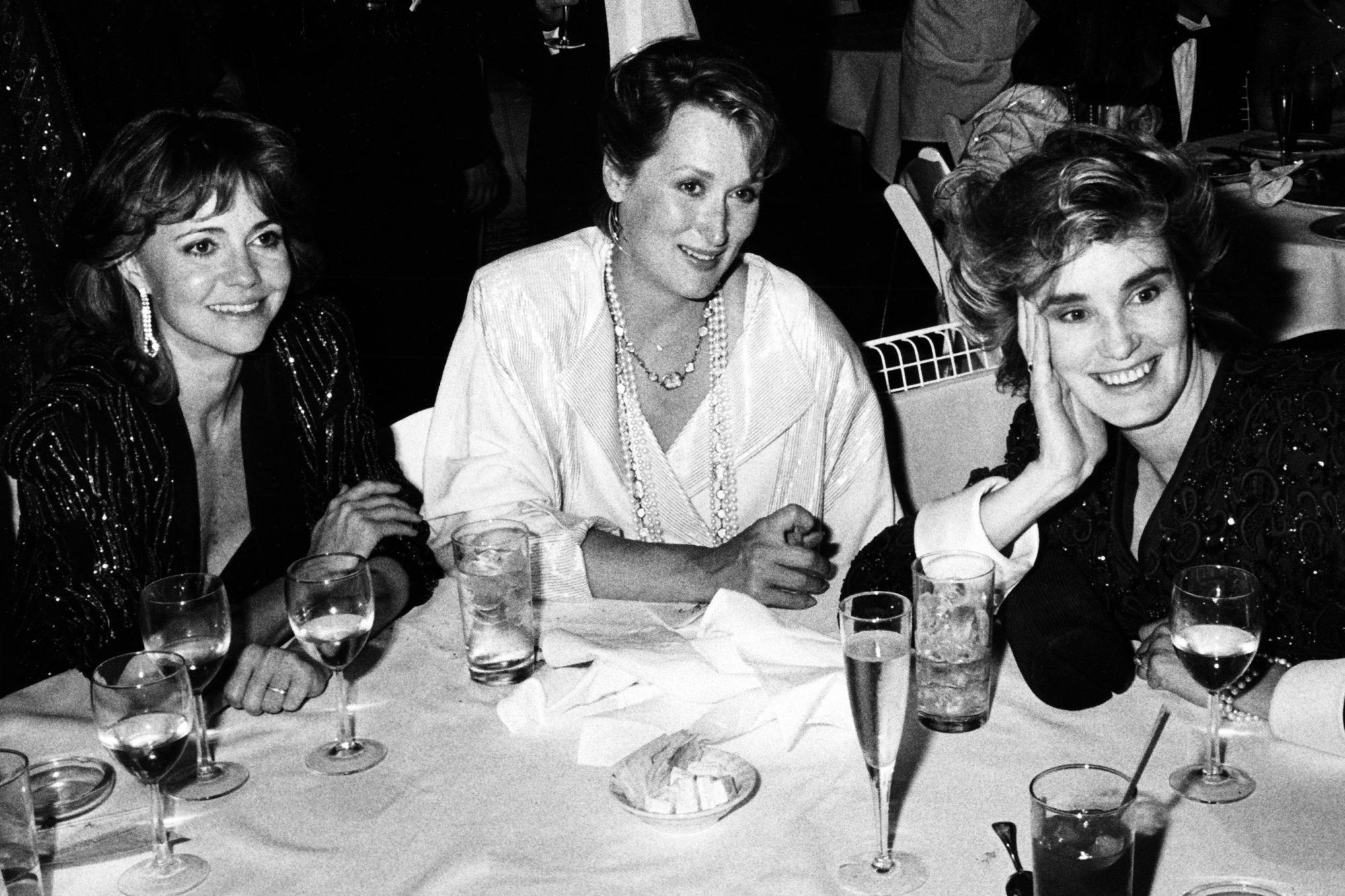Sally Field, Meryl Streep And Jessica Lange
