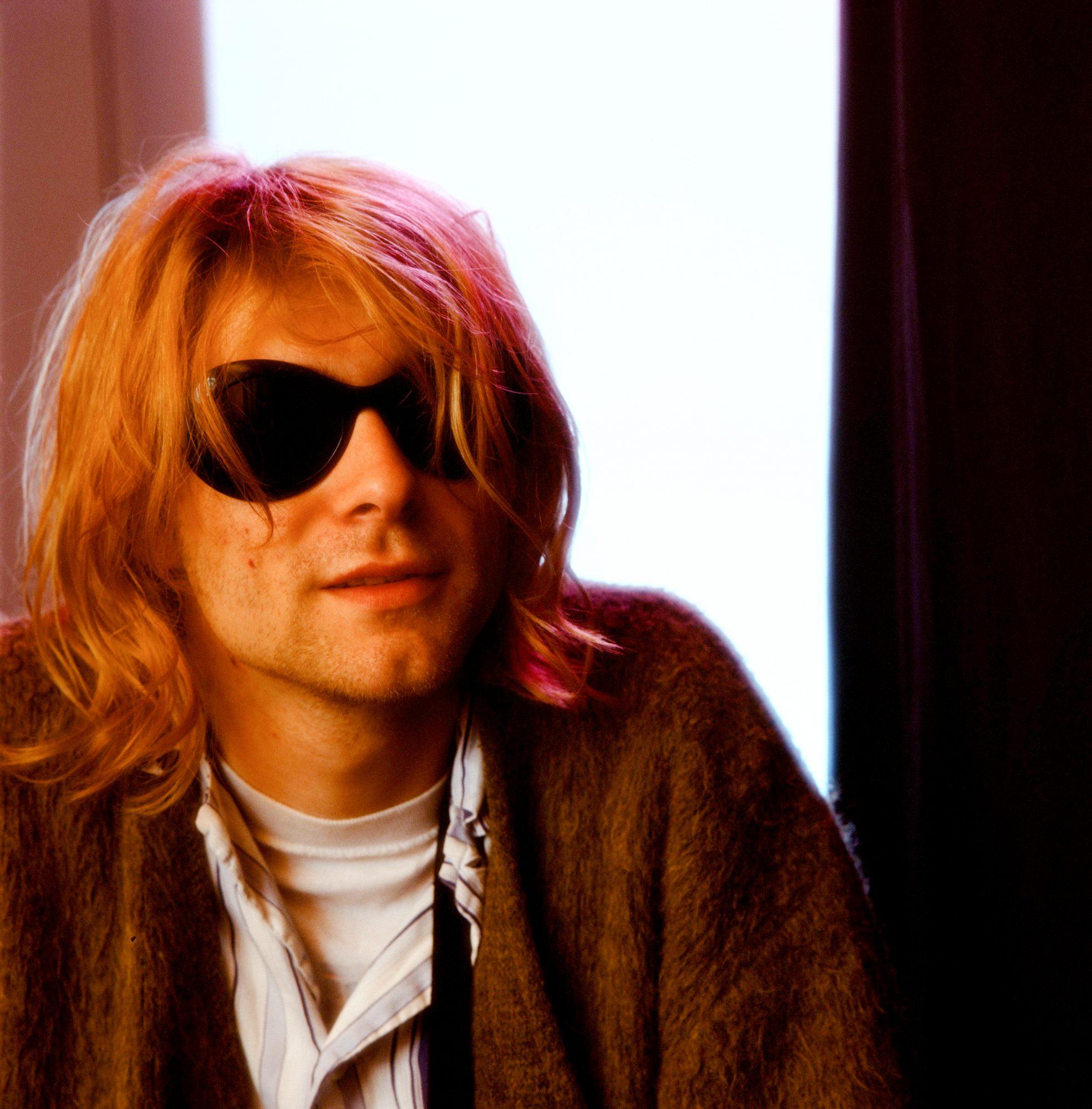 Nirvana Kurt Cobain At The Hotel
