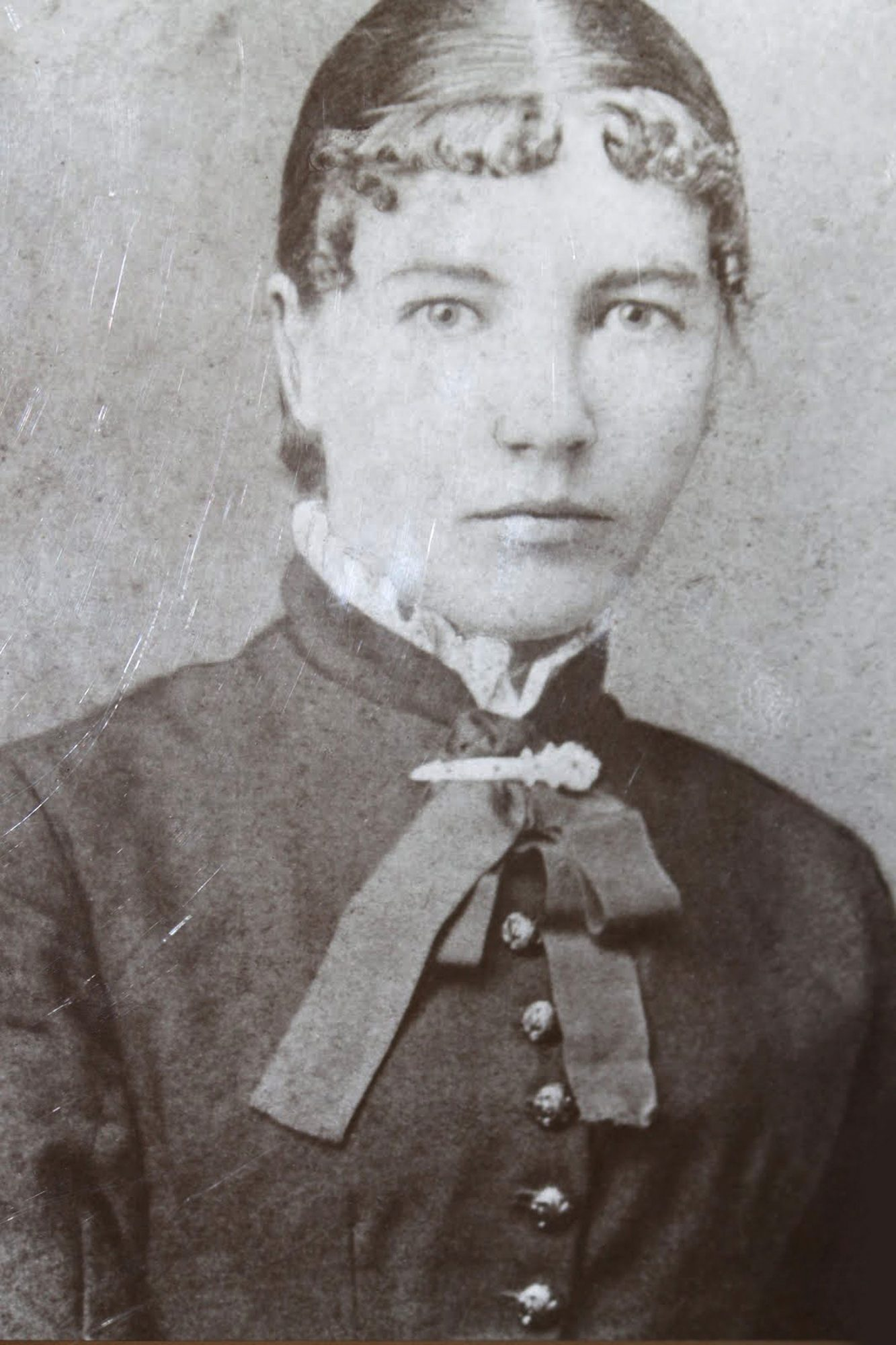 Laura Ingalls Wilder (1867-1957) as schoolteacher, 1887