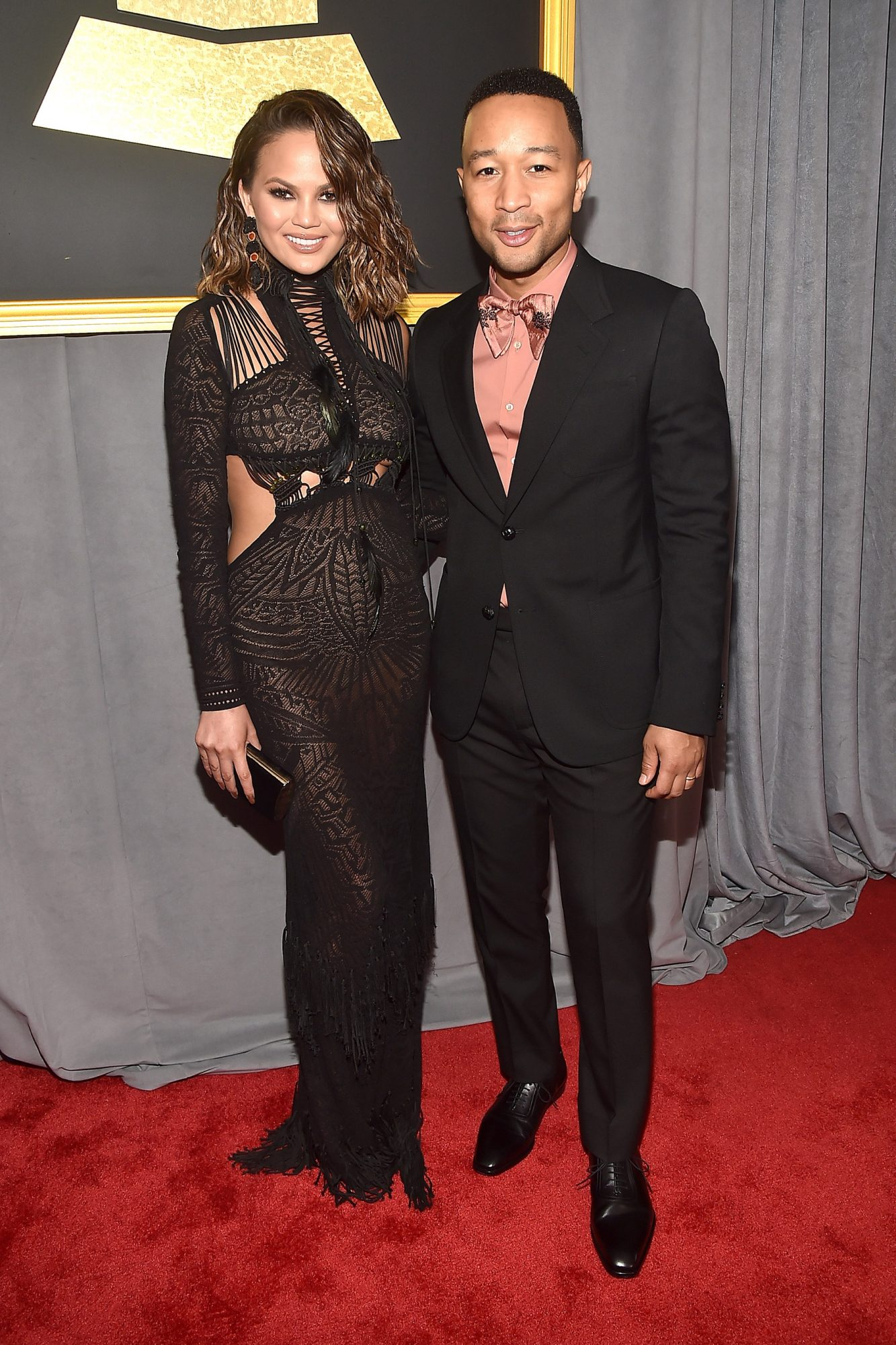 The 59th GRAMMY Awards - Red Carpet