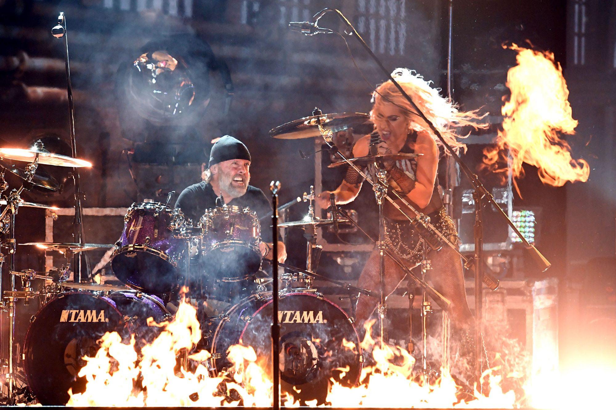 Lady Gaga & Lars Ulrich