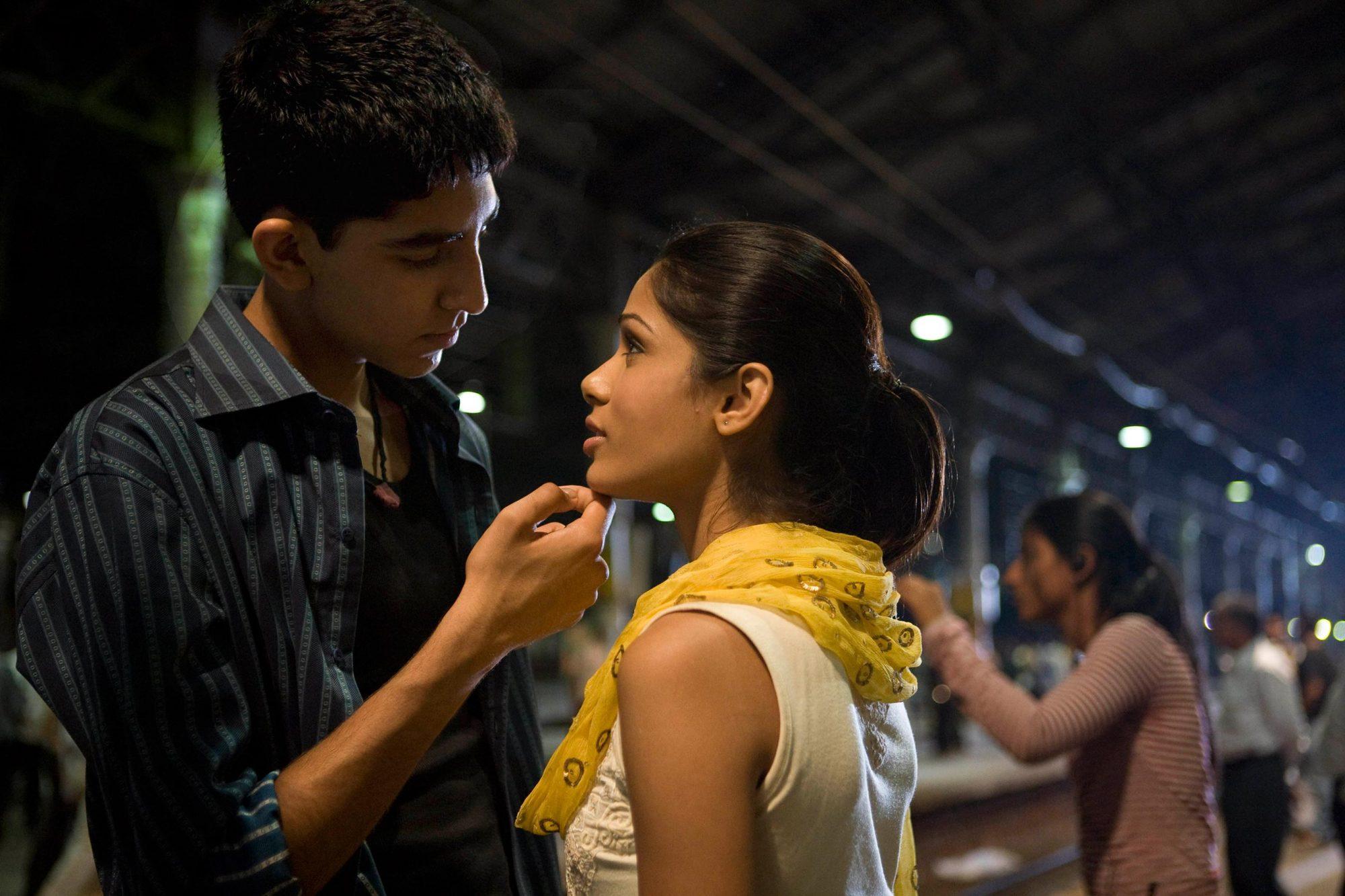 Slumdog Millionaire (2008)Dev Patel and Freida Pinto