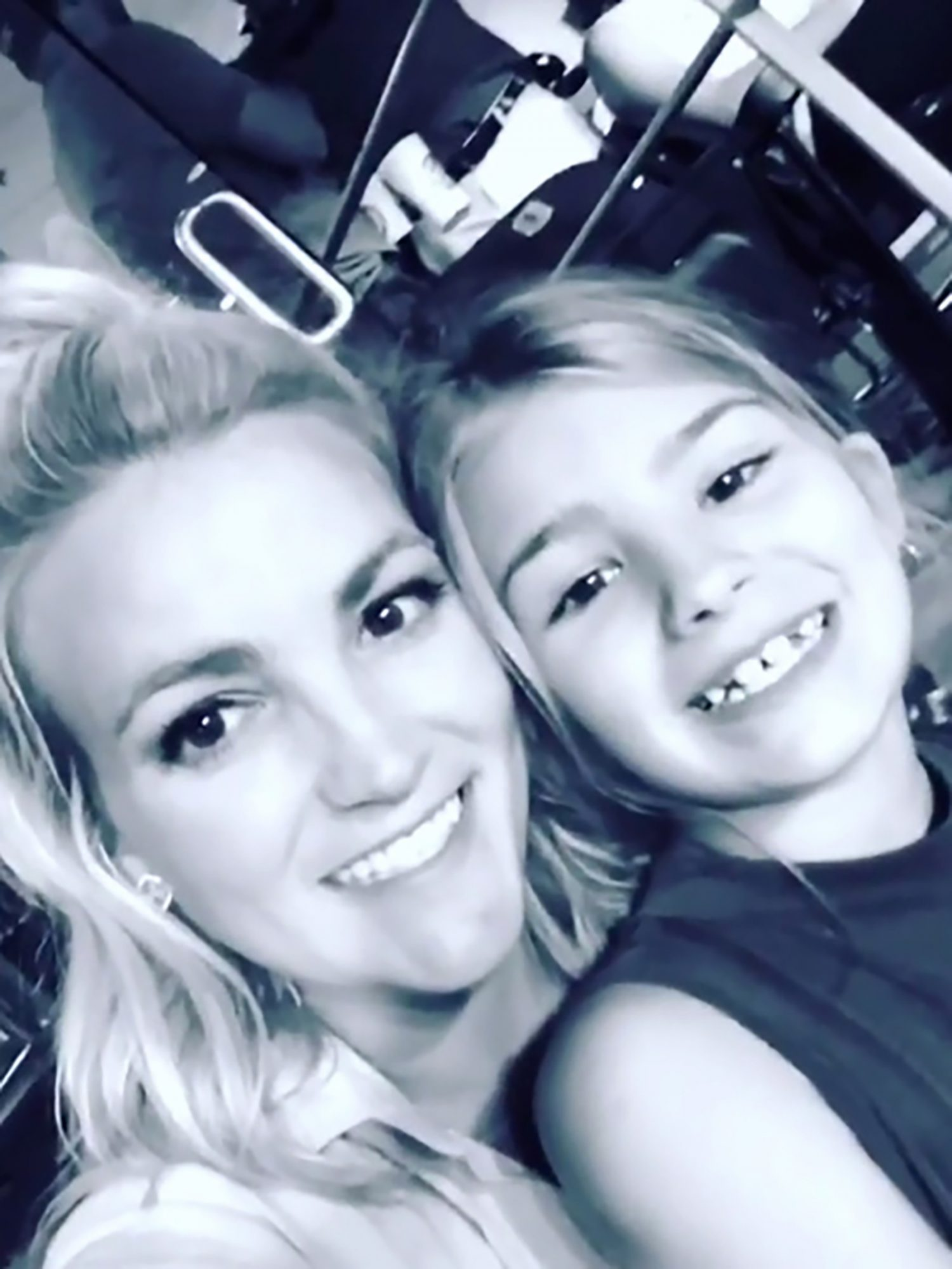 Jamie Lynn Spears & her daughter Maddie