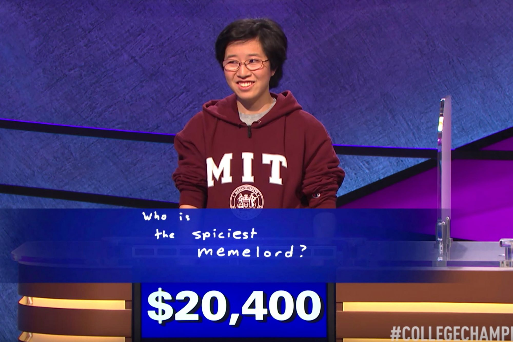2017 College Championship WinnerJeopardy! (screen grab)
