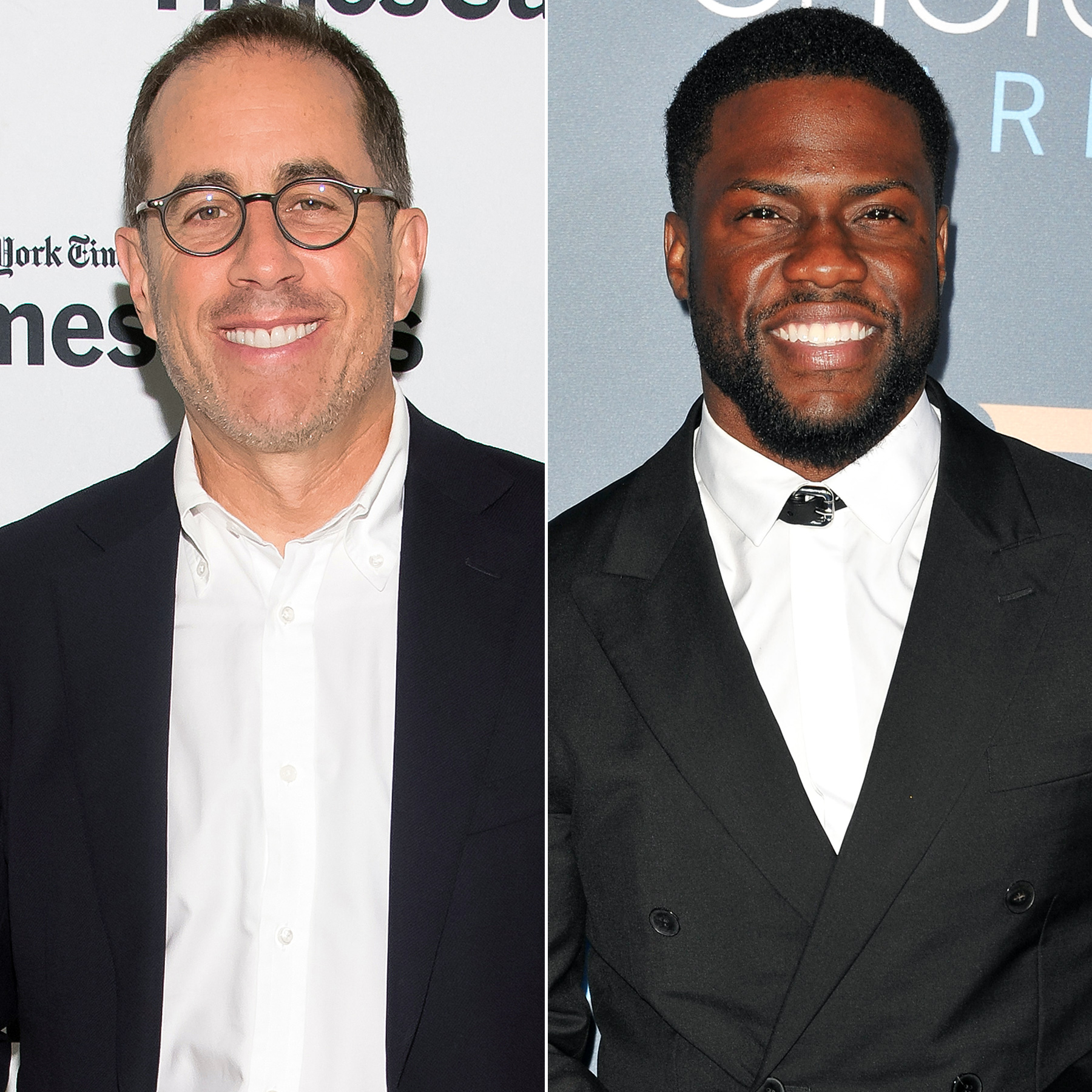 Jerry Seinfeld and Kevin Hart