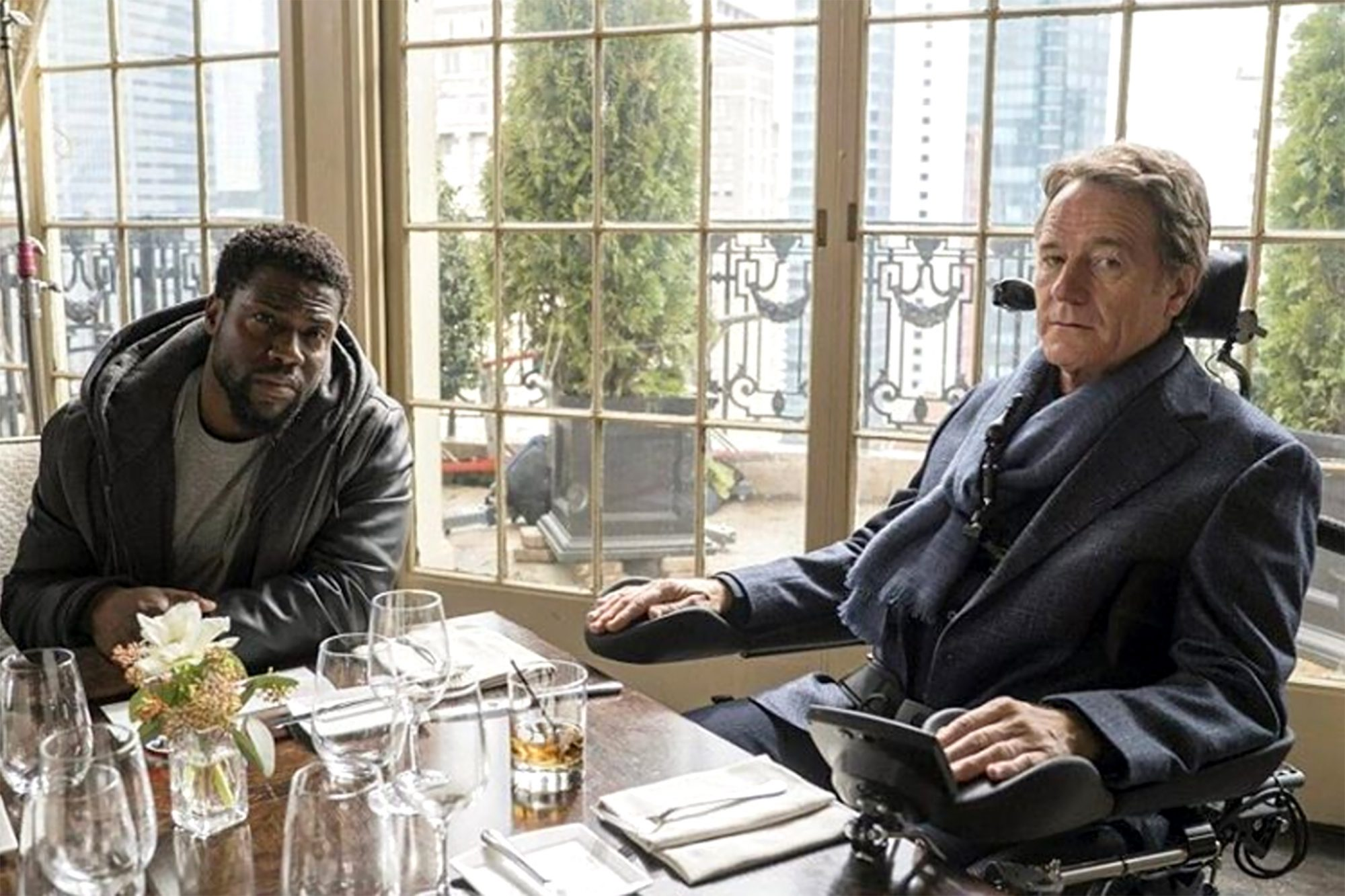 Kevin Hart and Bryan Cranston