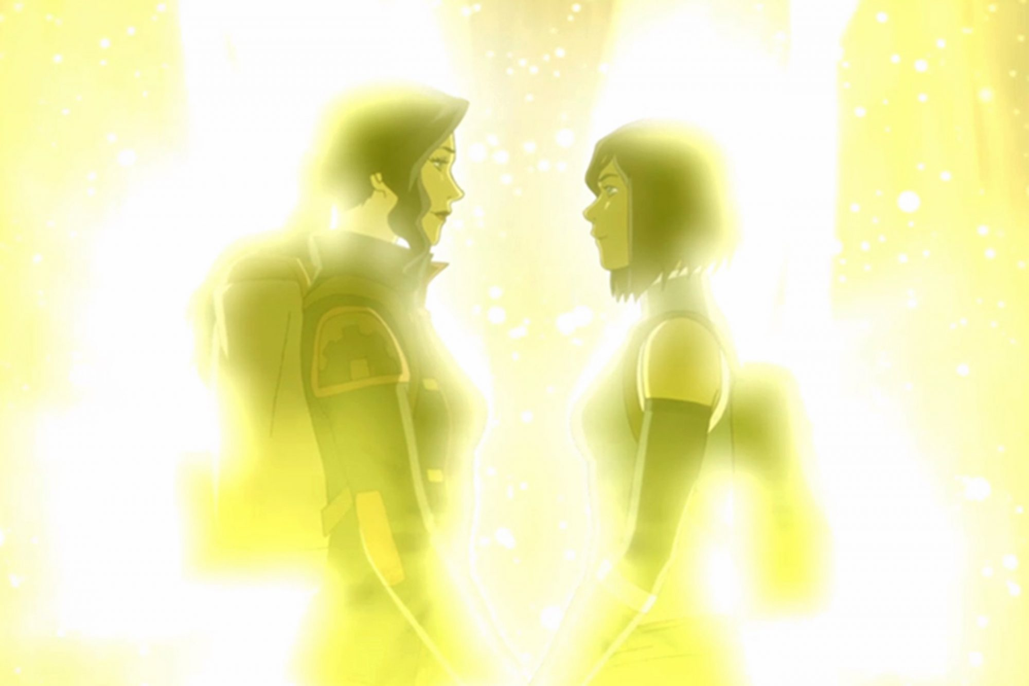 Korra and Asami - Legends of Korra