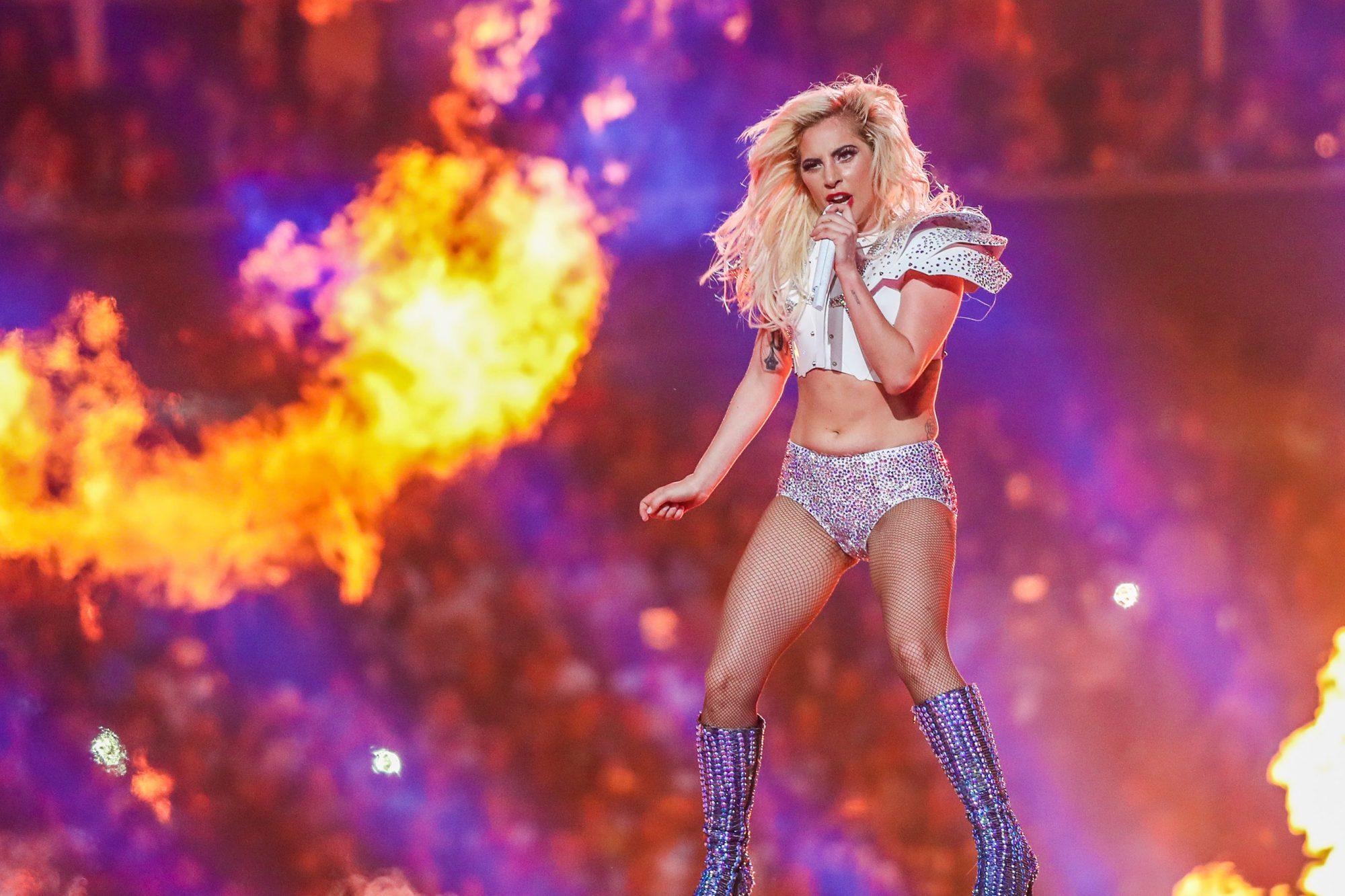 TX: Super Bowl LI - Lady Gaga Pepsi Zero Sugar Halftime Show