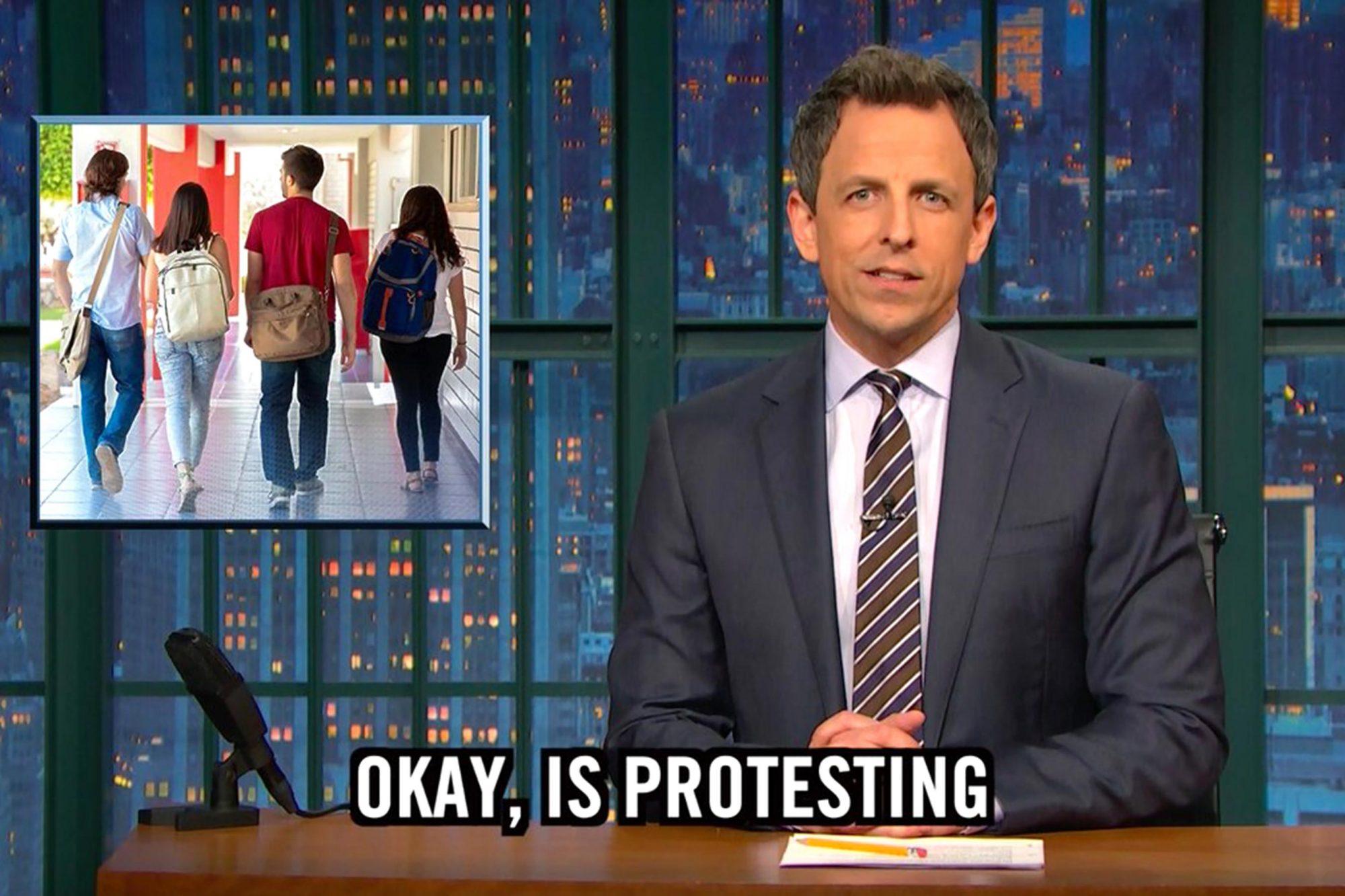 Late Night with Seth Meyers CR: NBC