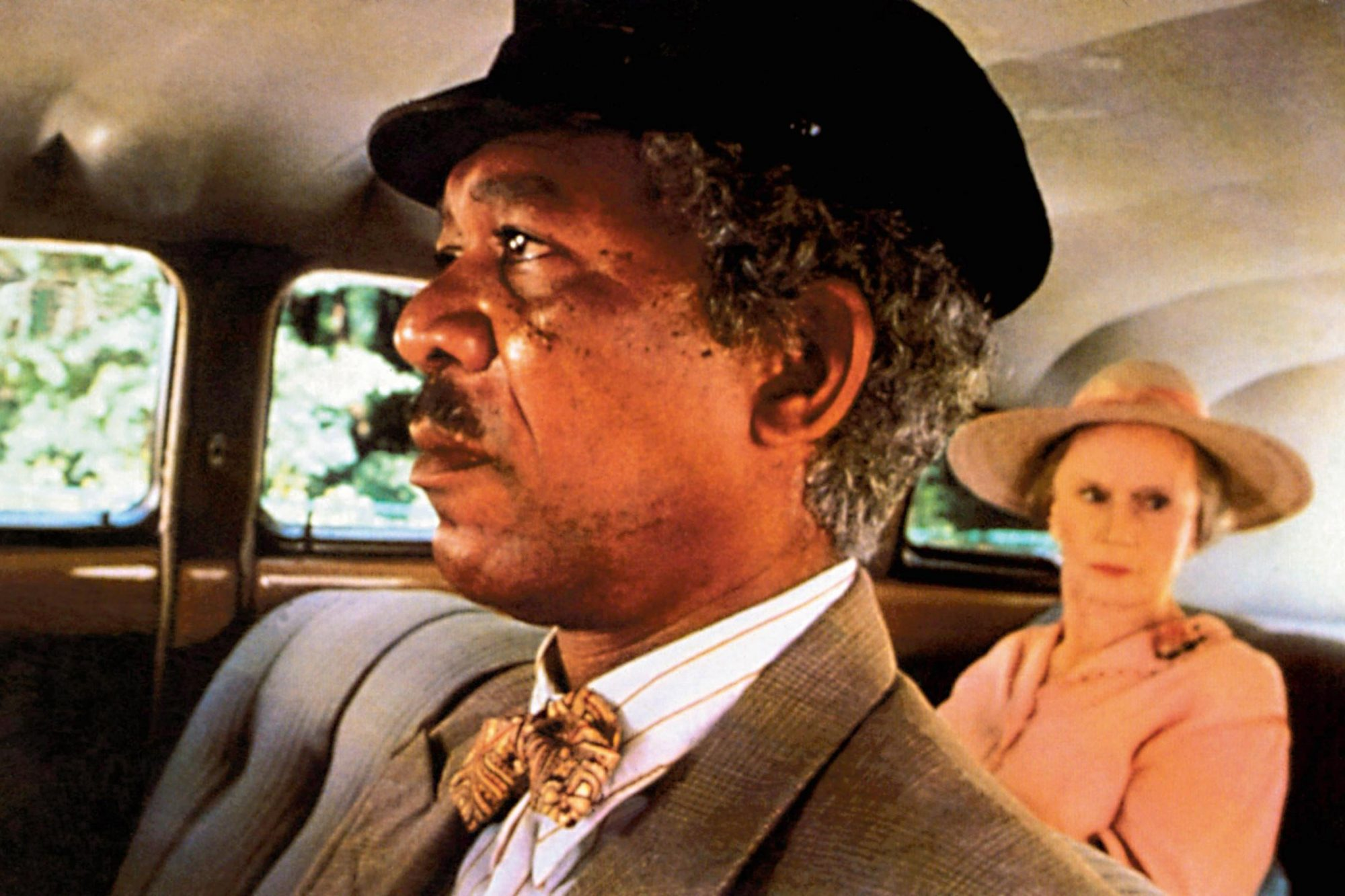 DRIVING MISS DAISY, from left: Morgan Freeman, Jessica Tandy, 1989, © Warner Brothers/courtesy Evere