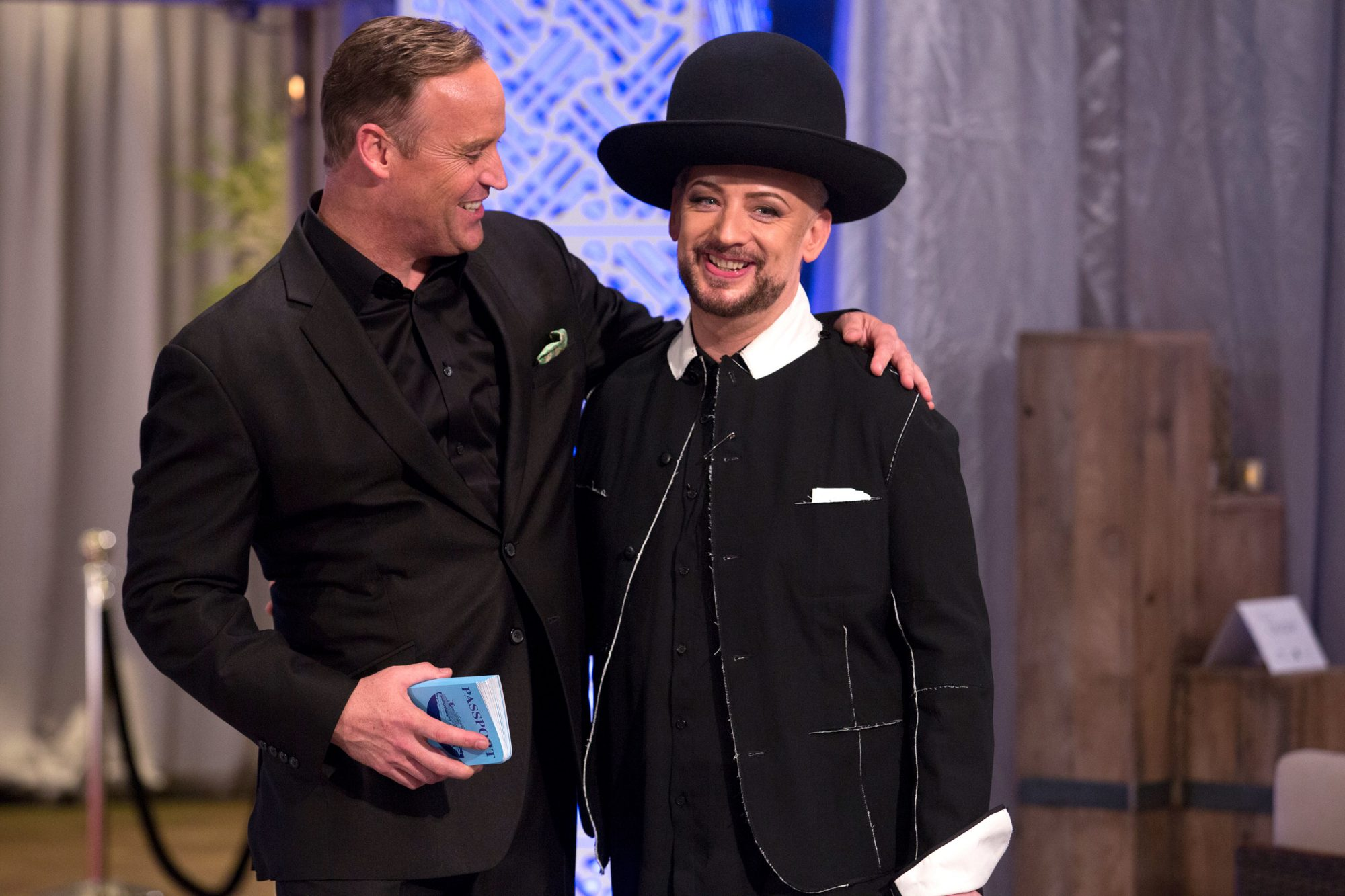 matt-iseman-and-boy-george-on-celebrity-apprentice