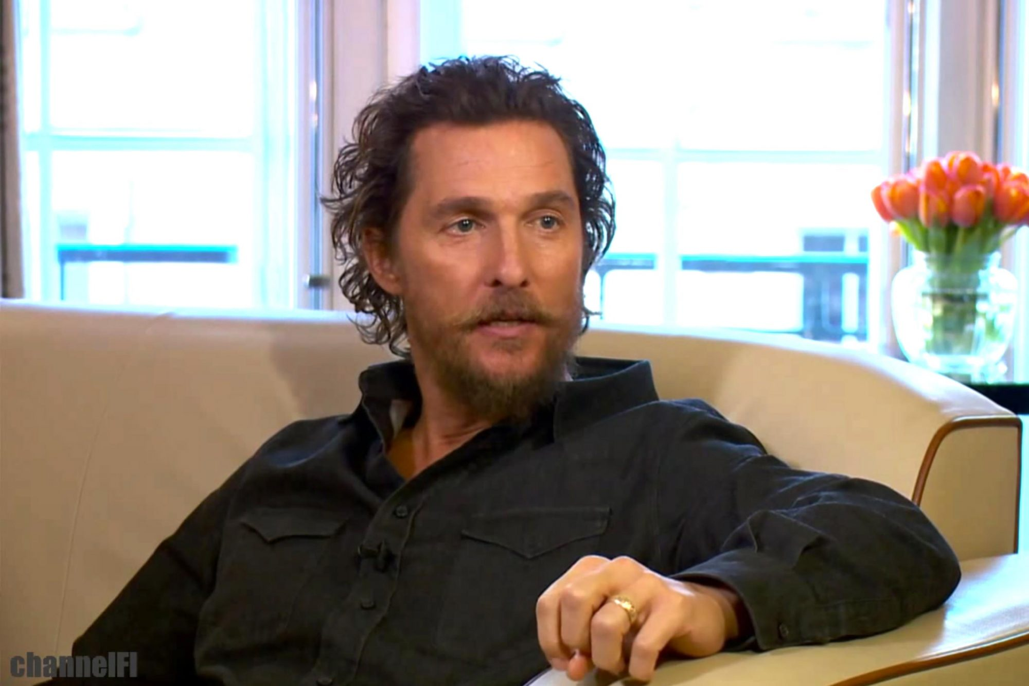 Matthew McConaughey on Donald Trump (screen grab)ChannelFI CR: ChannelFI