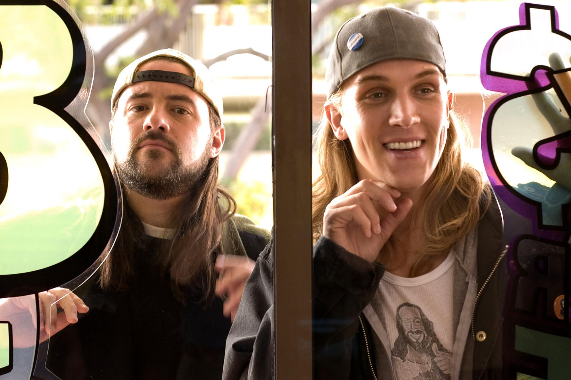 CLERKS II, Kevin Smith, Jason Mewes, 2006. ©Weinstein Company/Courtesy Everett Collection