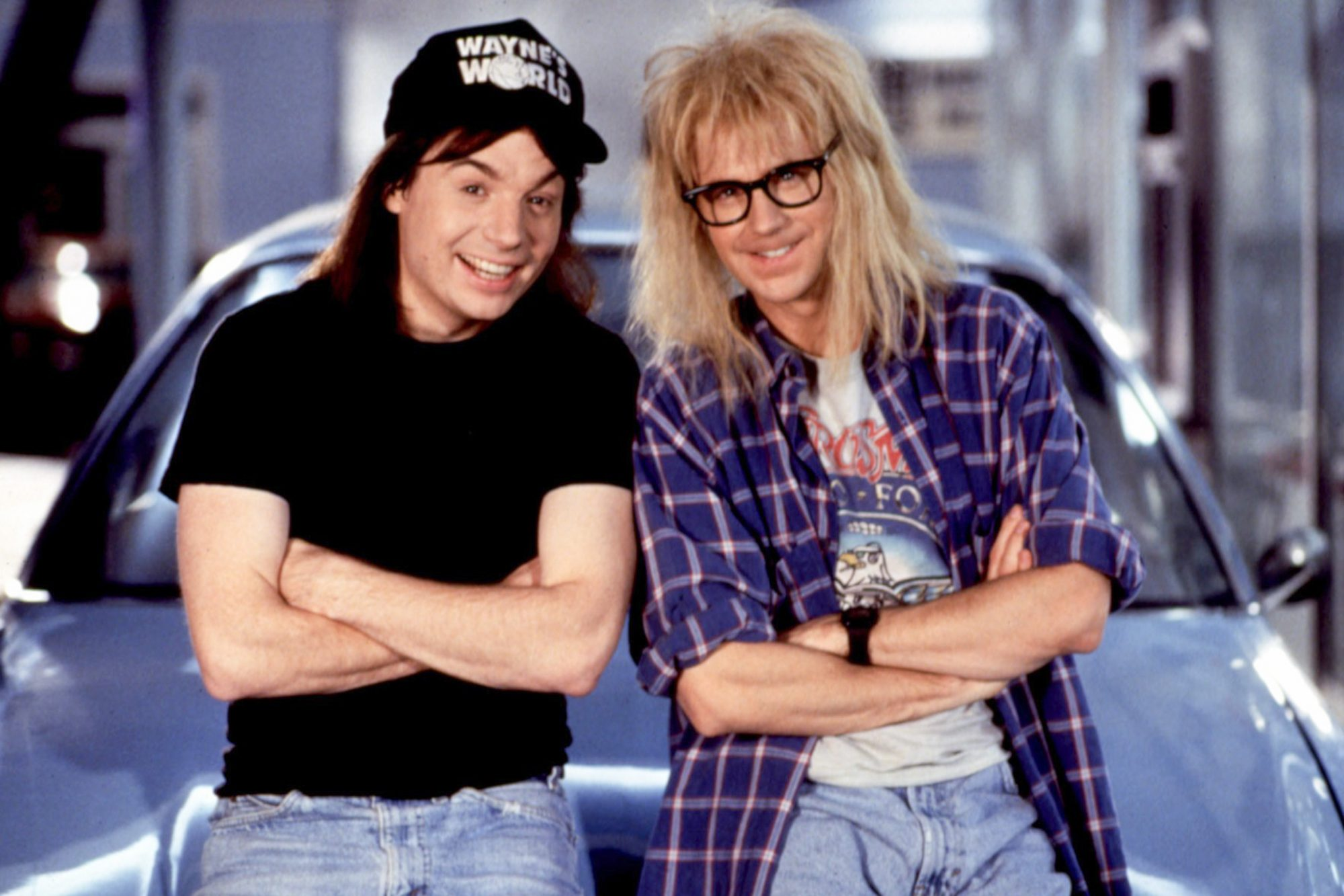 WAYNE'S WORLD, Mike Myers, Dana Carvey, 1992