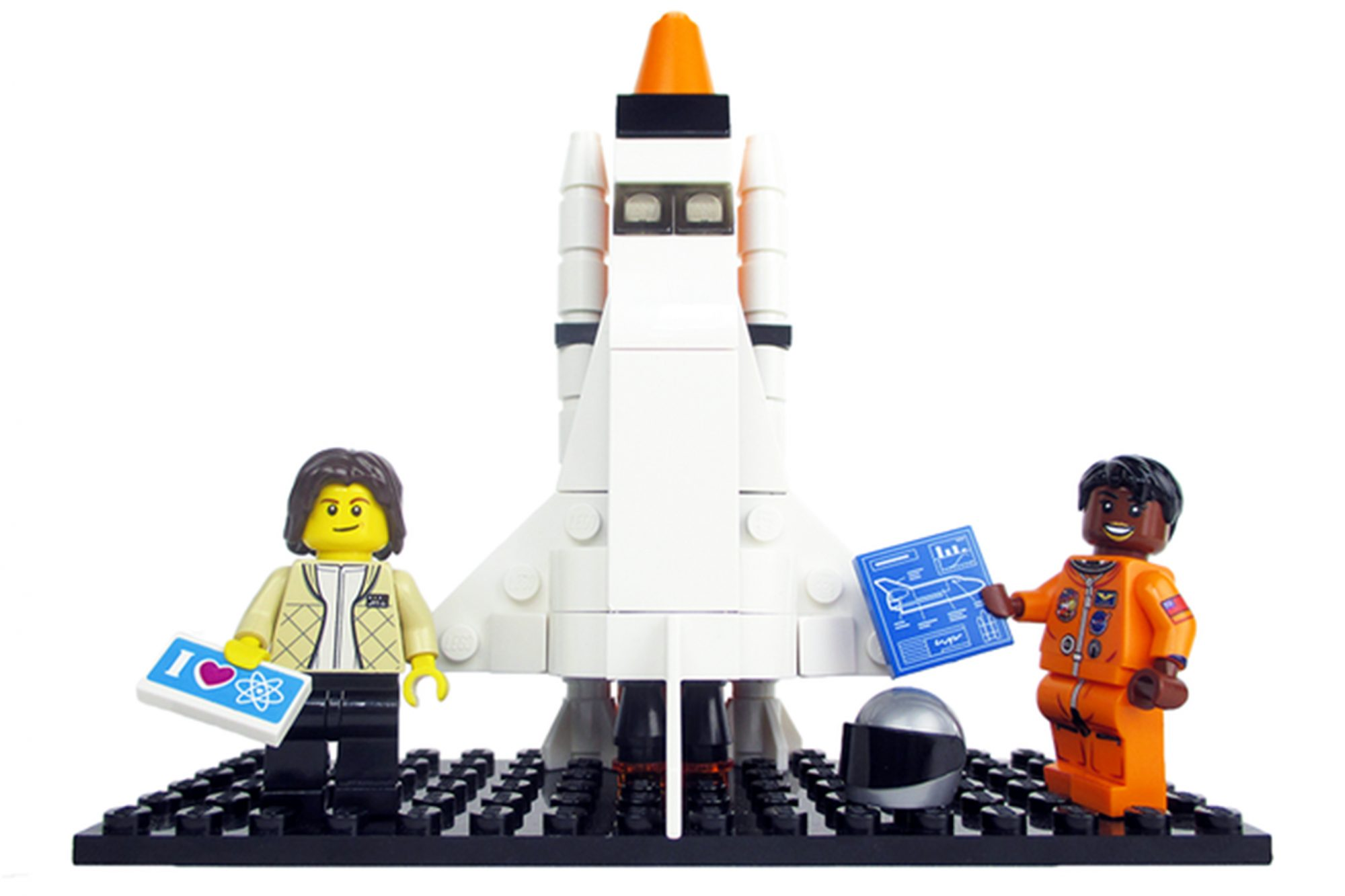 Nasa Women Legos