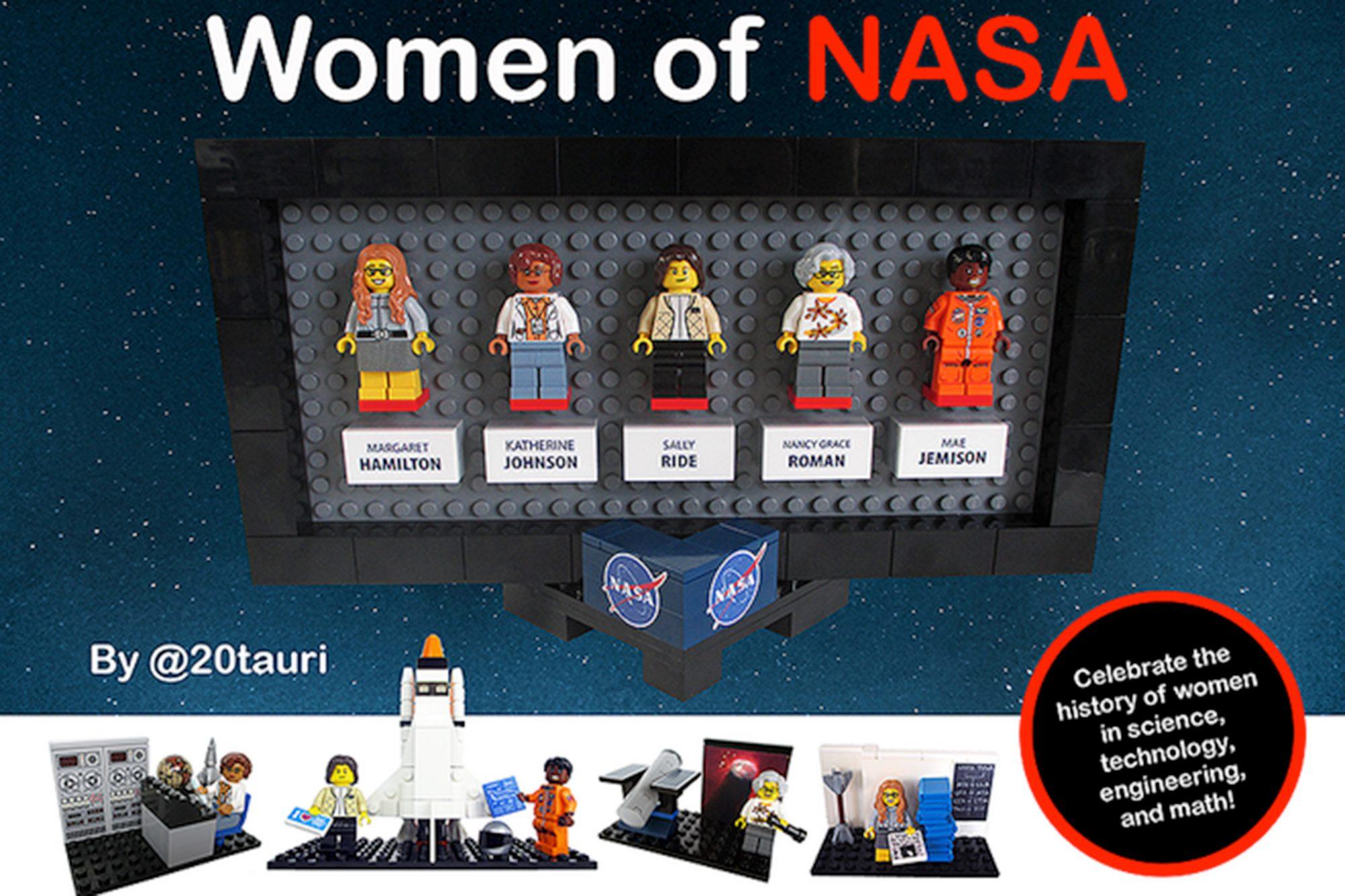Nasa Women Legos