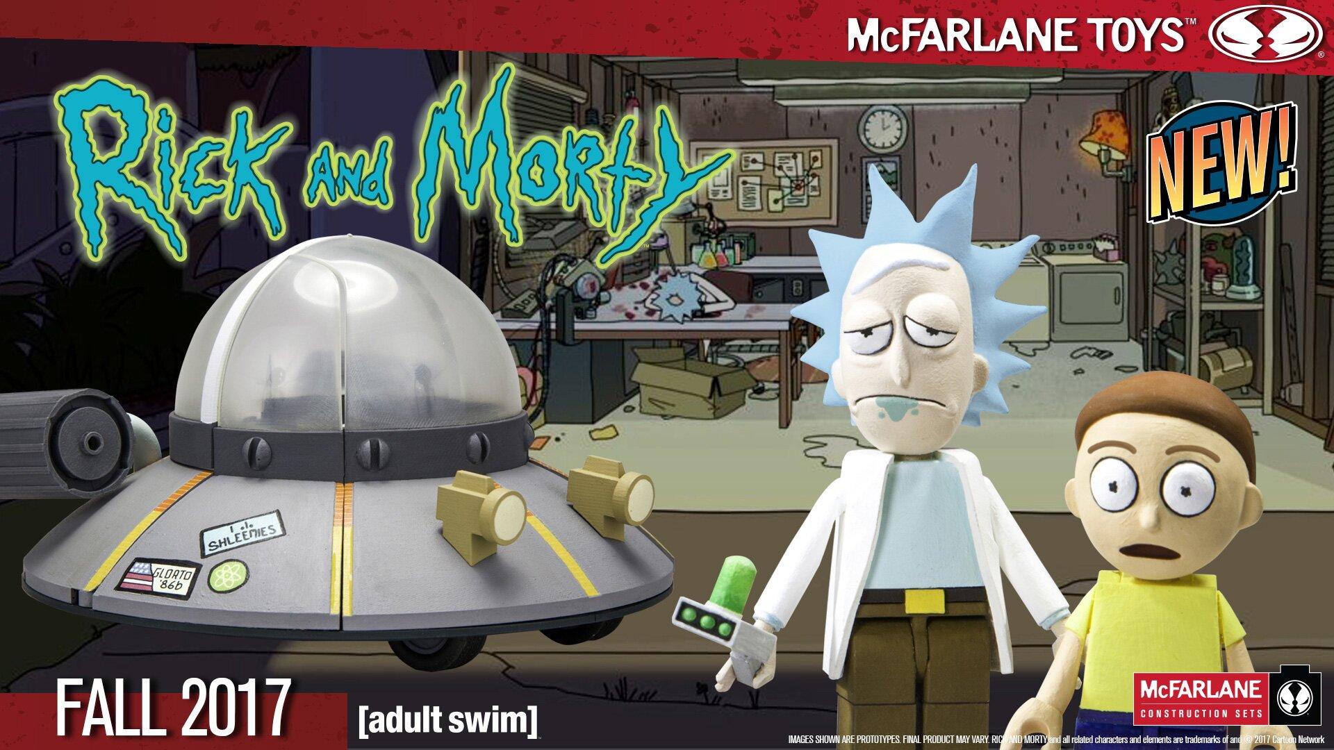 Mcfarlane Toys Announces Rick And Morty Construction Sets Ew Com