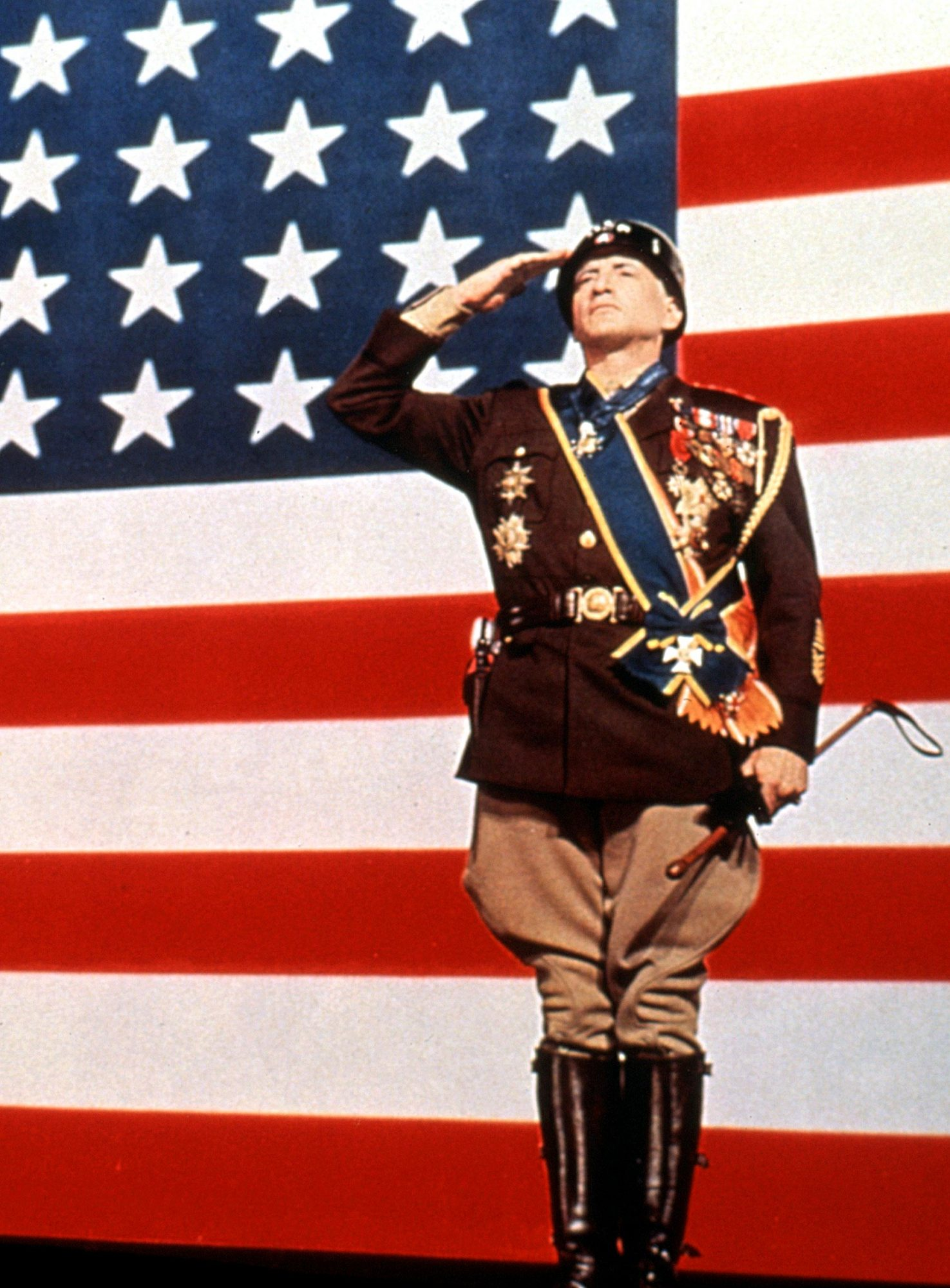 PATTON, George C. Scott, 1970, TM and Copyright (c)20th Century Fox Film Corp. All rights reserved.