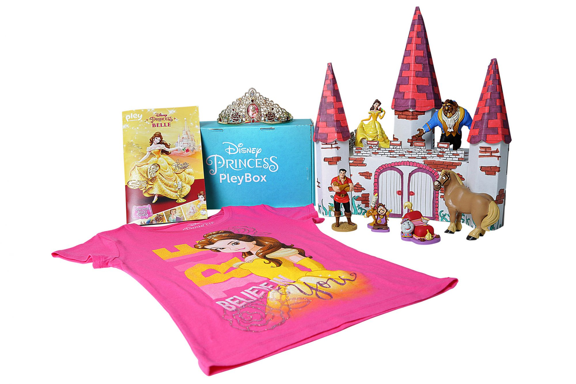 Princess Belle Pley Box